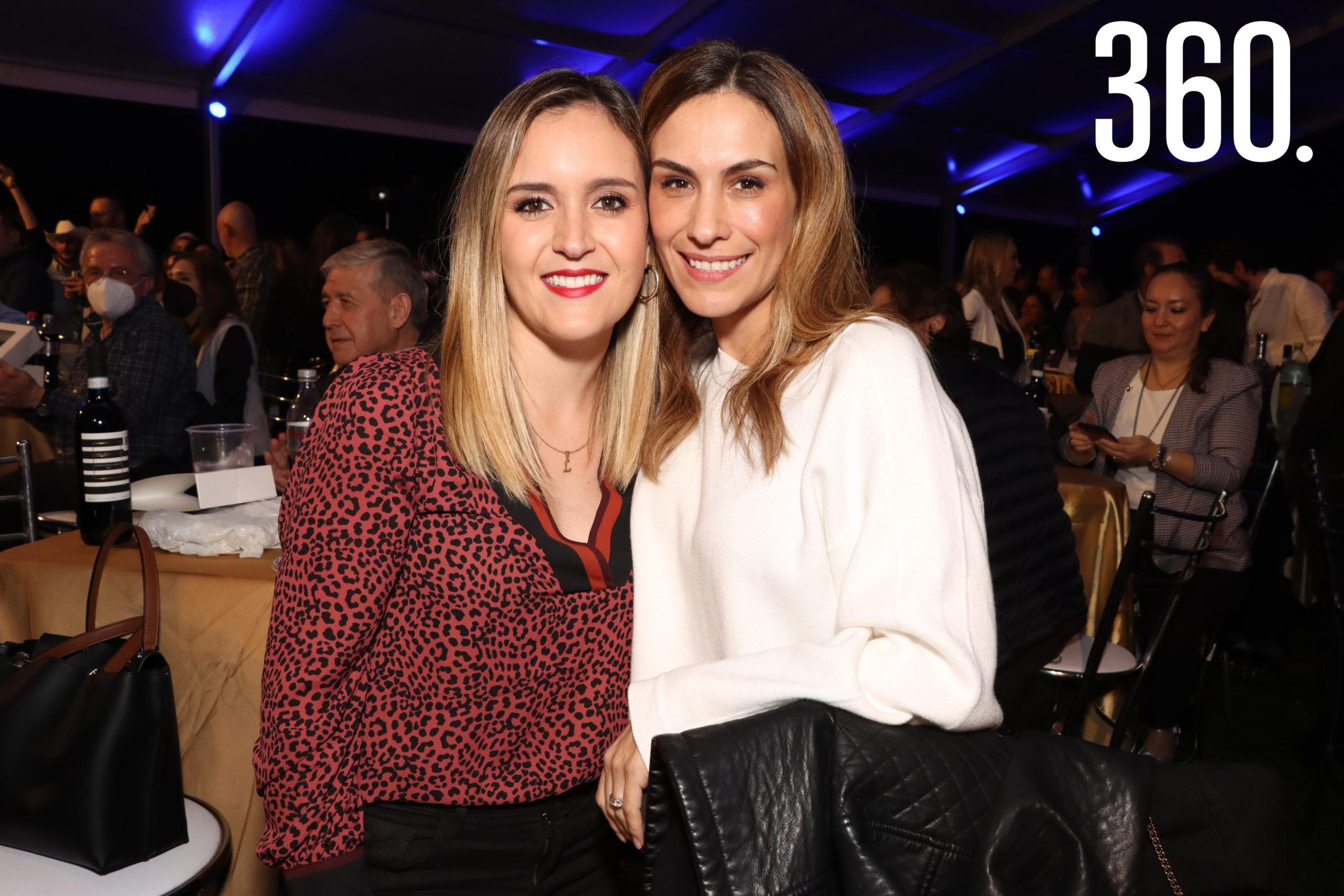 Lorena González y Gaby Castañeda.
