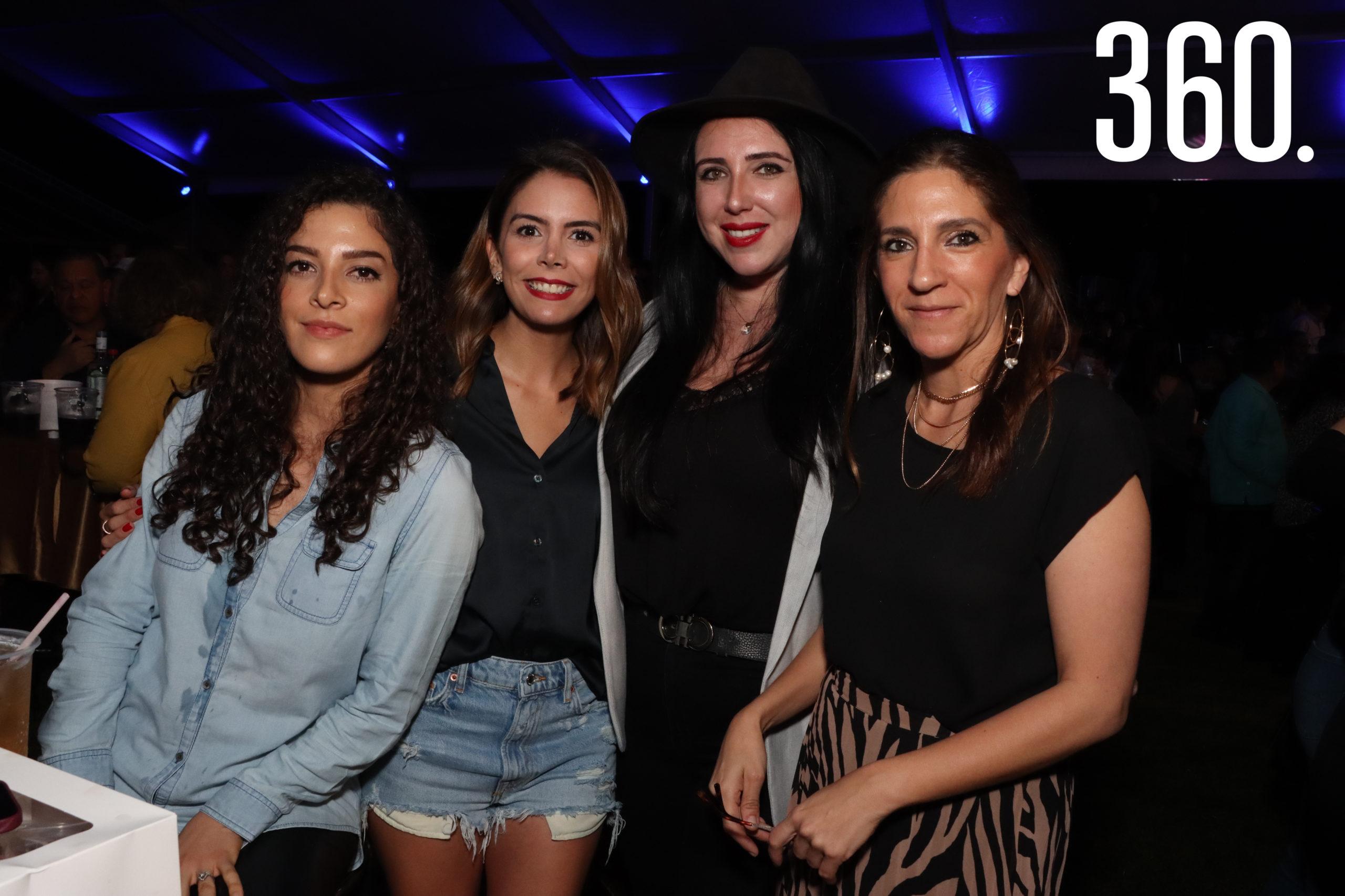 Frida Mancha, Sara Rodríguez, Analicia Oyarzabal y Daniela Siller.