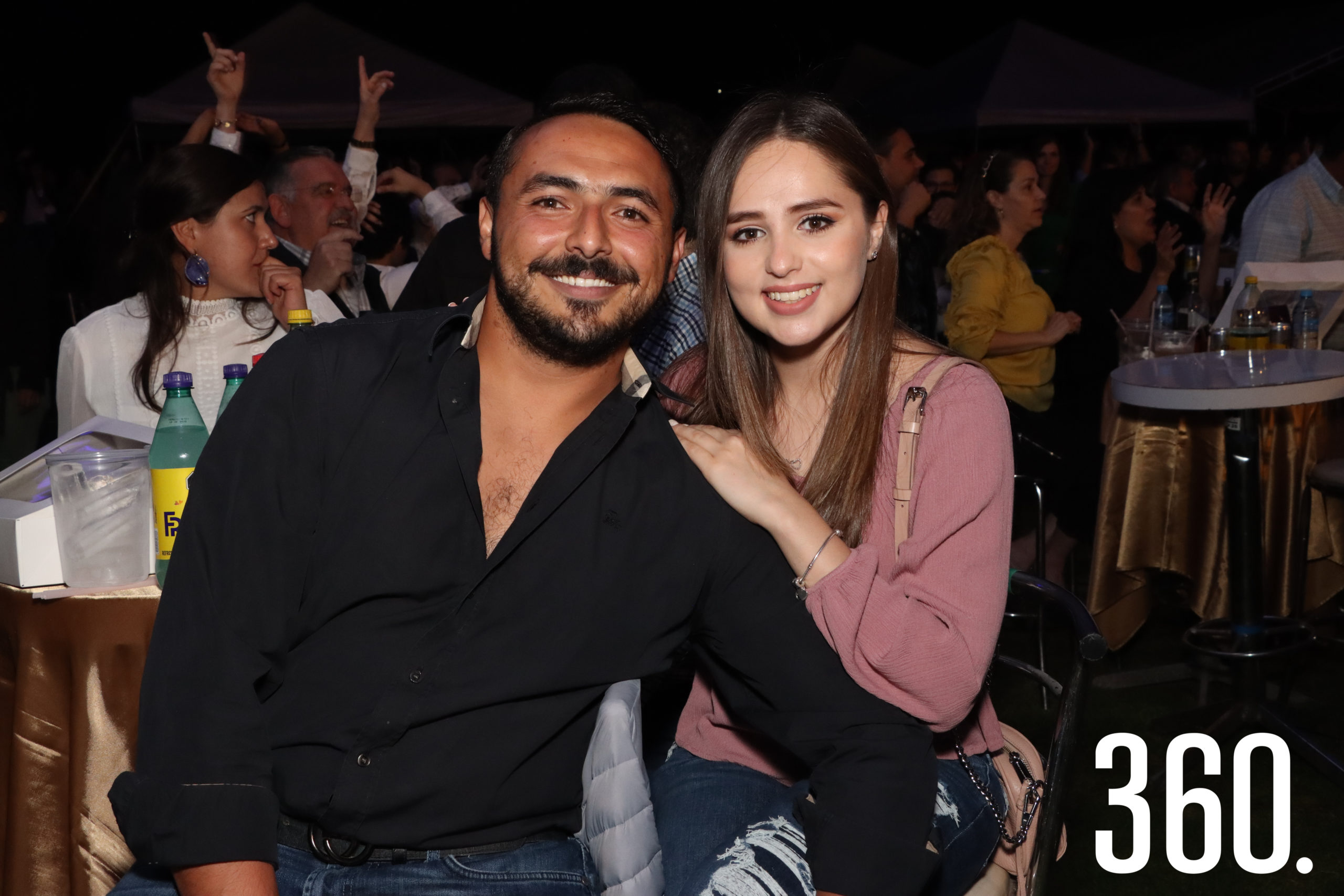 Ernesto Boardman y Melissa Carvajal.