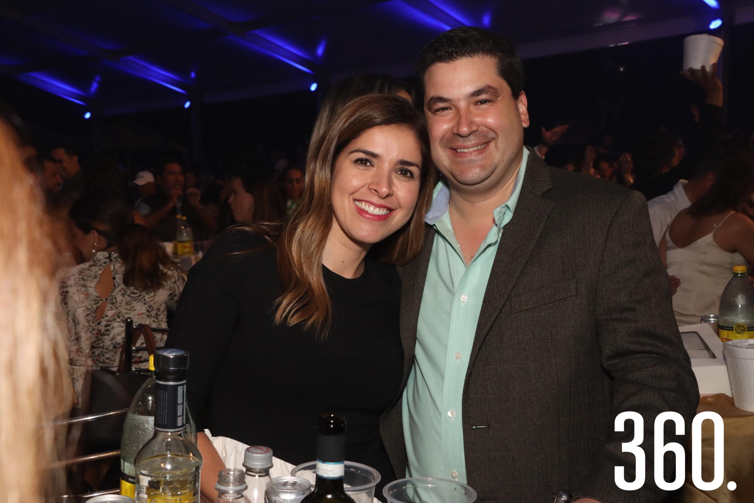 Lorena González y Francisco Aguirre.
