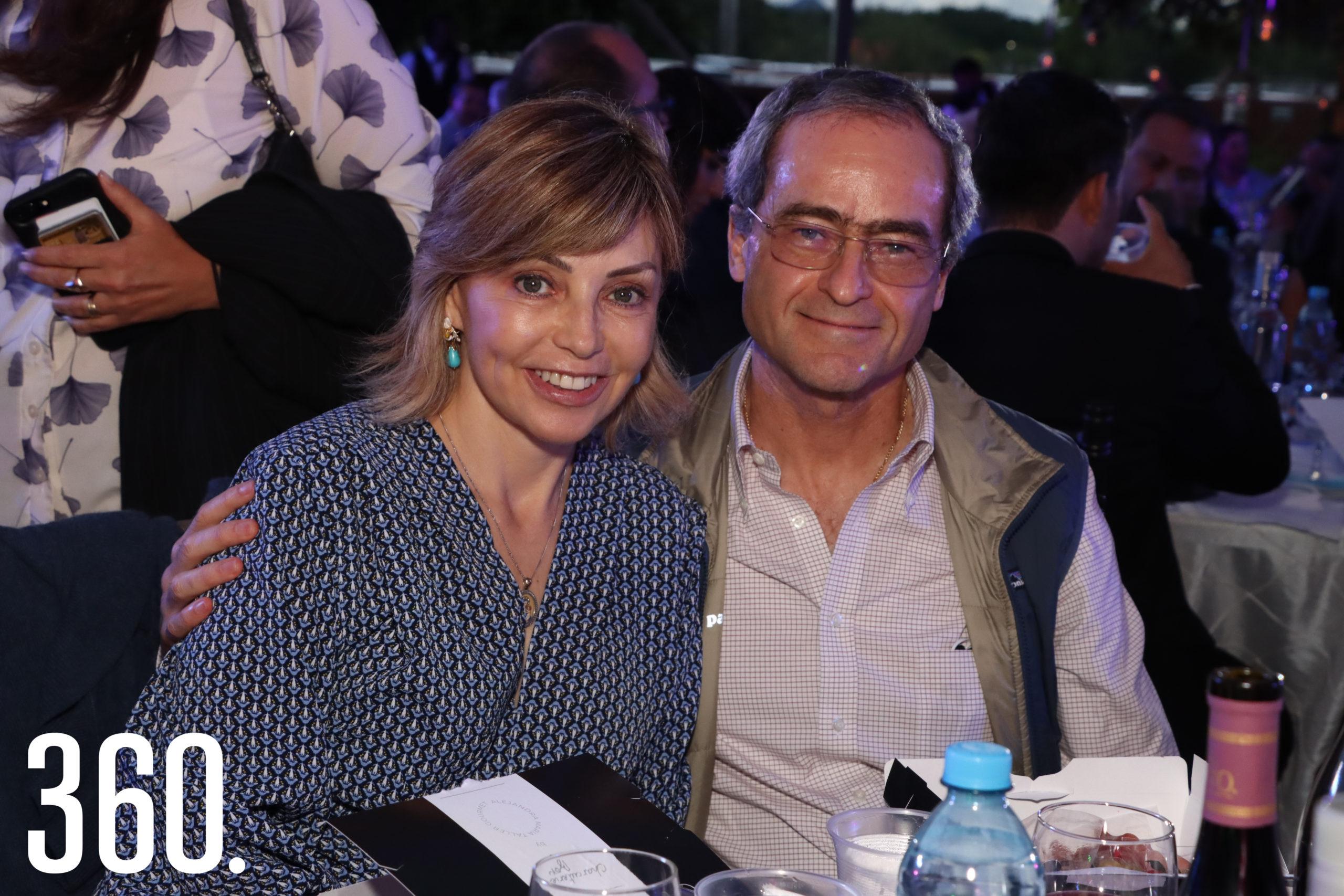 Conchita Aguirre y Luis Arizpe.