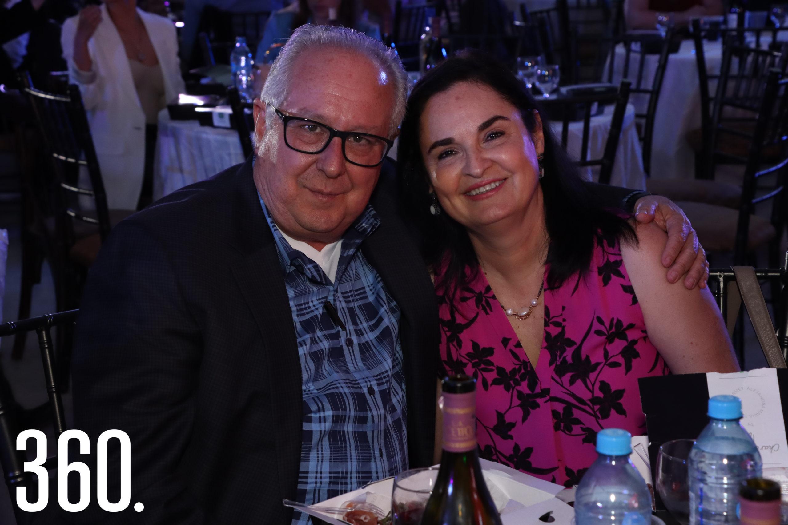 Jorge Alanís y Alicia Verastegui.