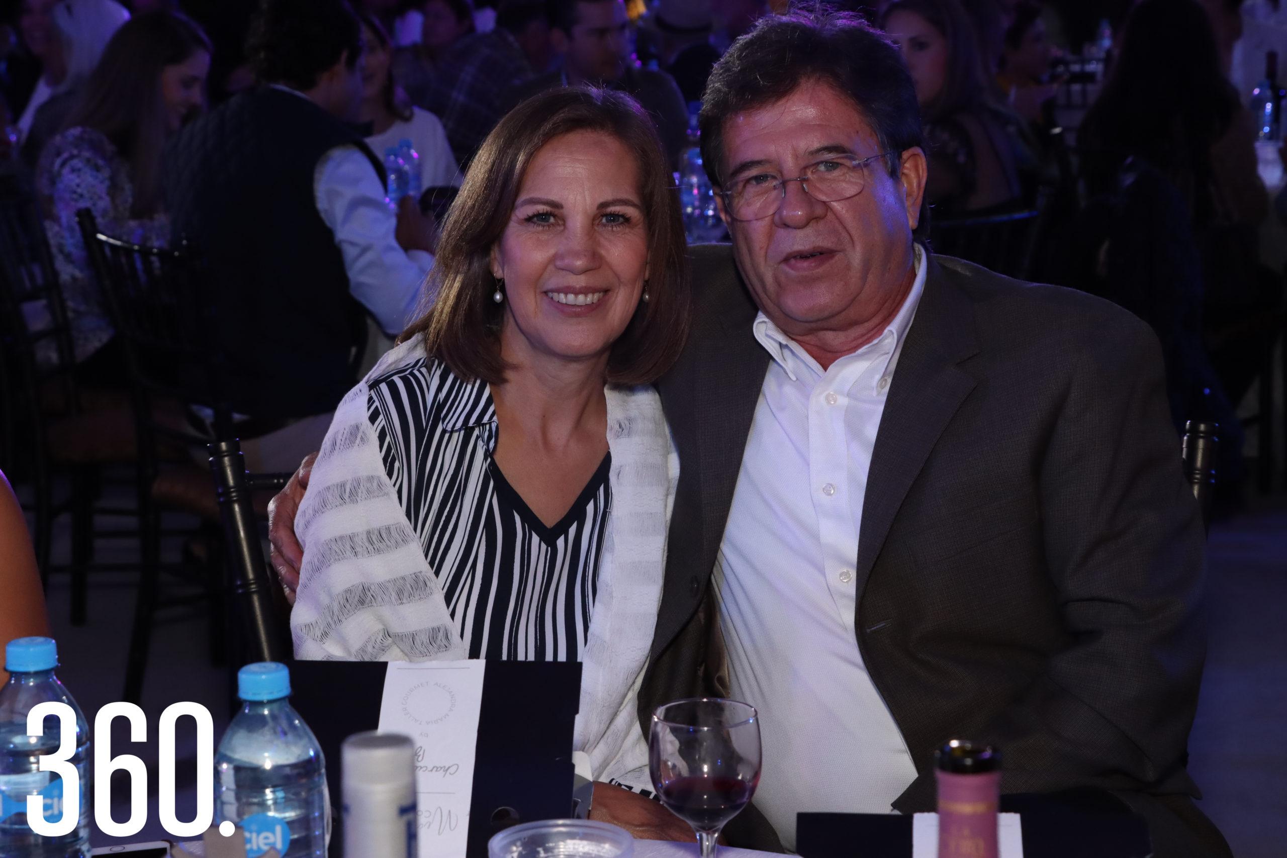 Magdalena Arsuaga y Rodolfo Gutiérrez.