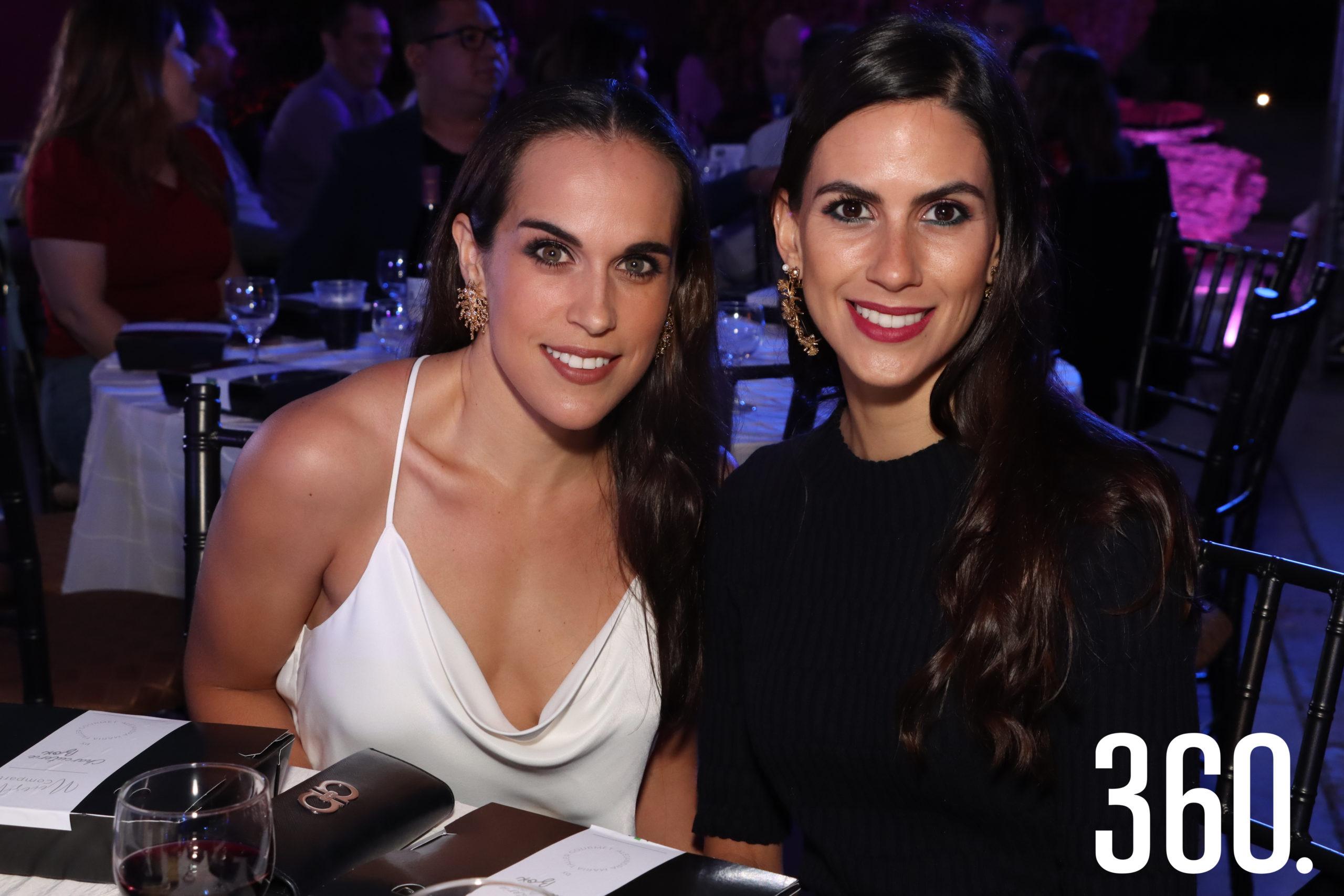 Marthis López y Nona Salinas González.