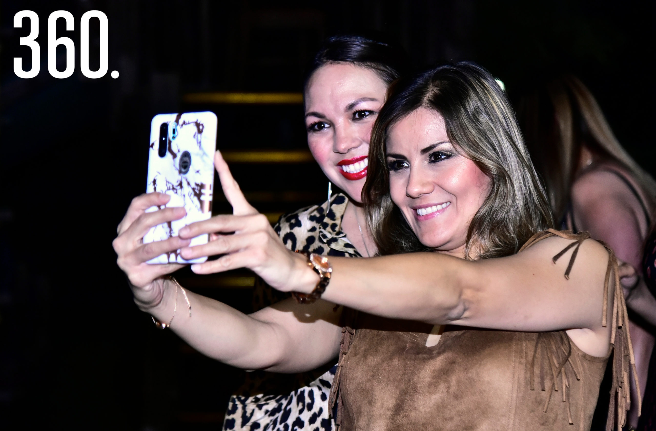 Sandra Pérez y Liliana García.