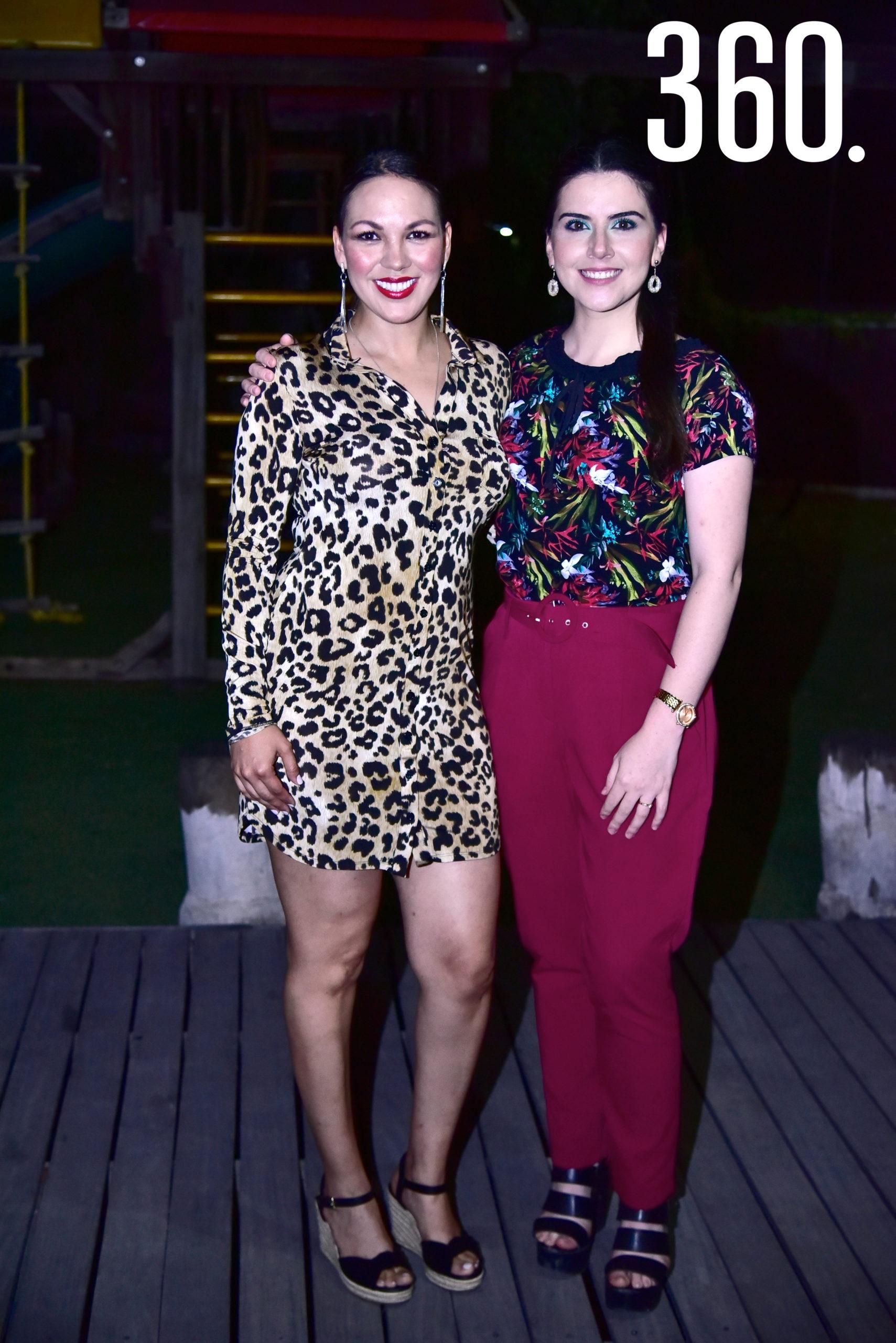 Sandra Pérez y Rocío Saavedra.