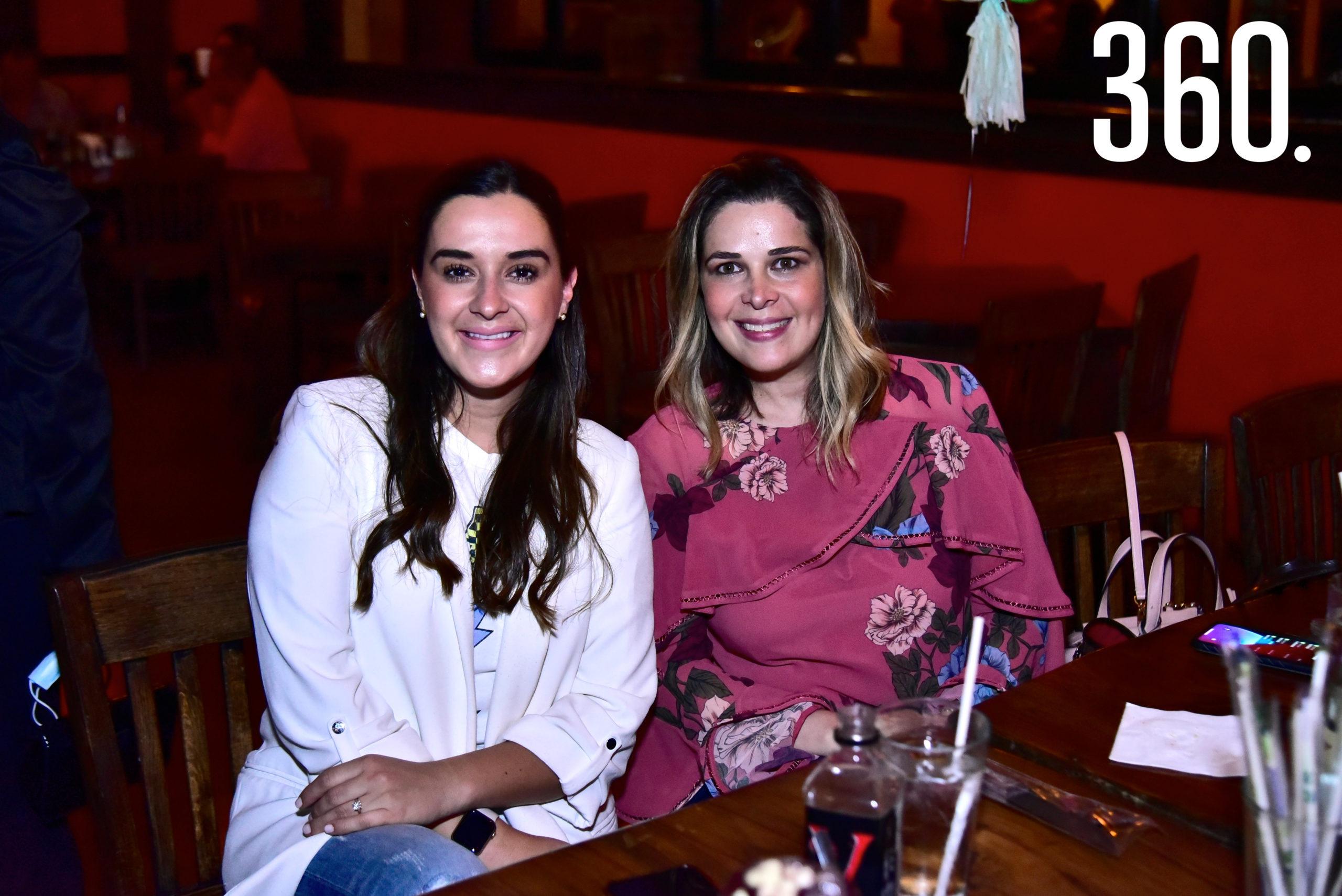 Ana Lucia Paz y Karla Guerra de Villaseñor.