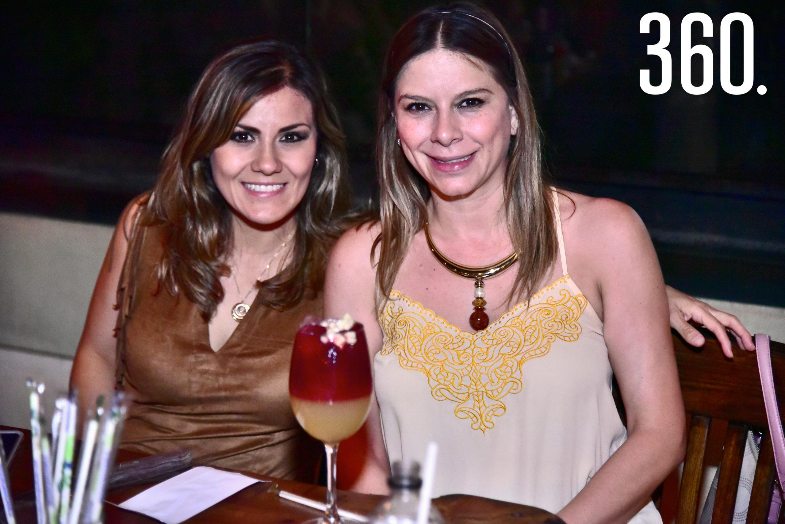Liliana García y Gaysi Medina.