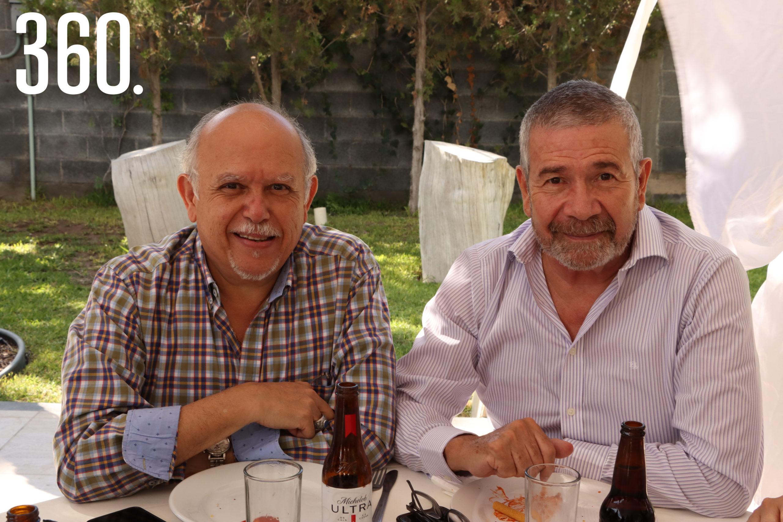 Evelio Guerra y Gerardo García.