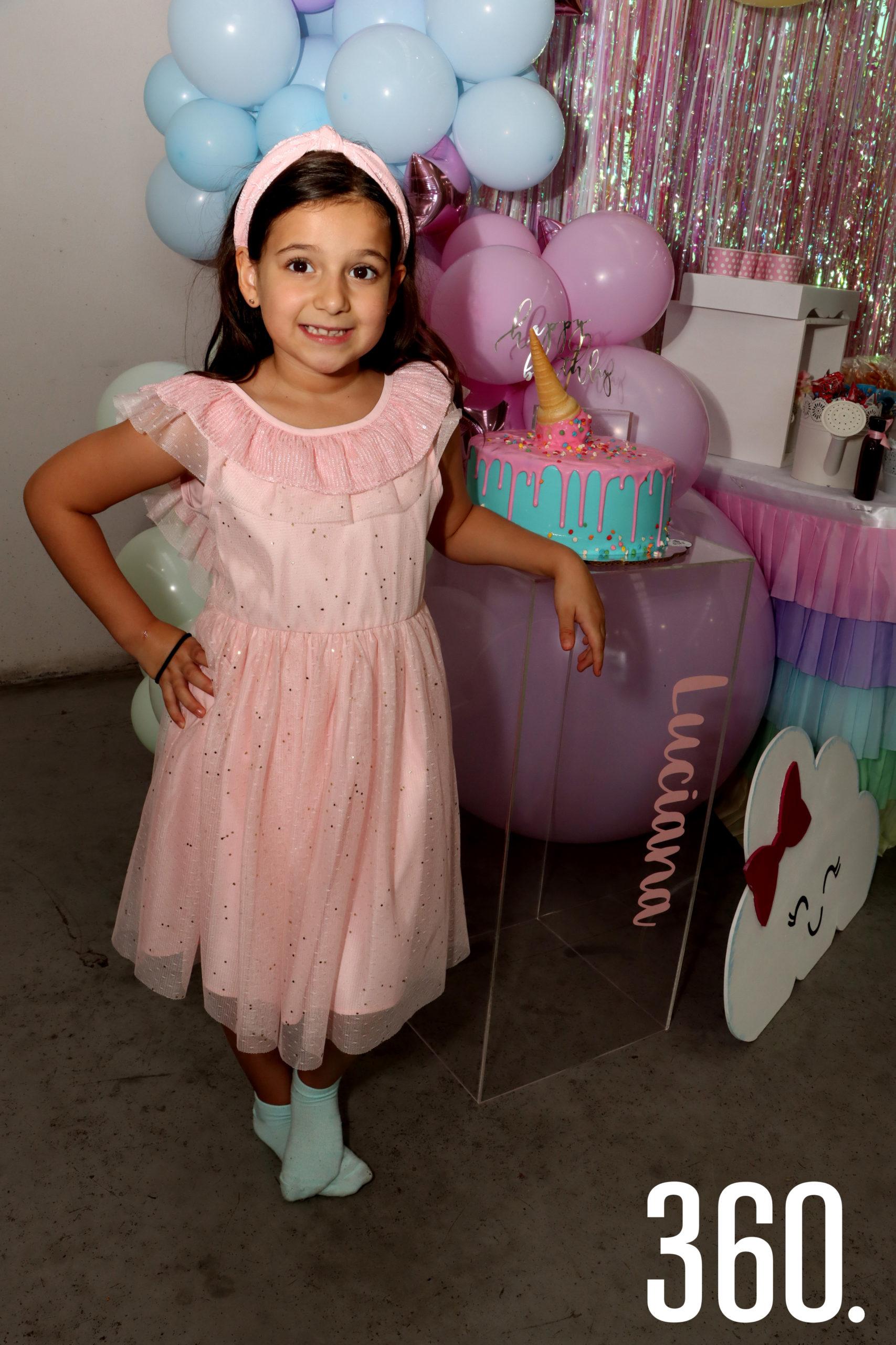 Luciana Cruz Valdés celebró su cumpleaños en el salón Funky Frog.