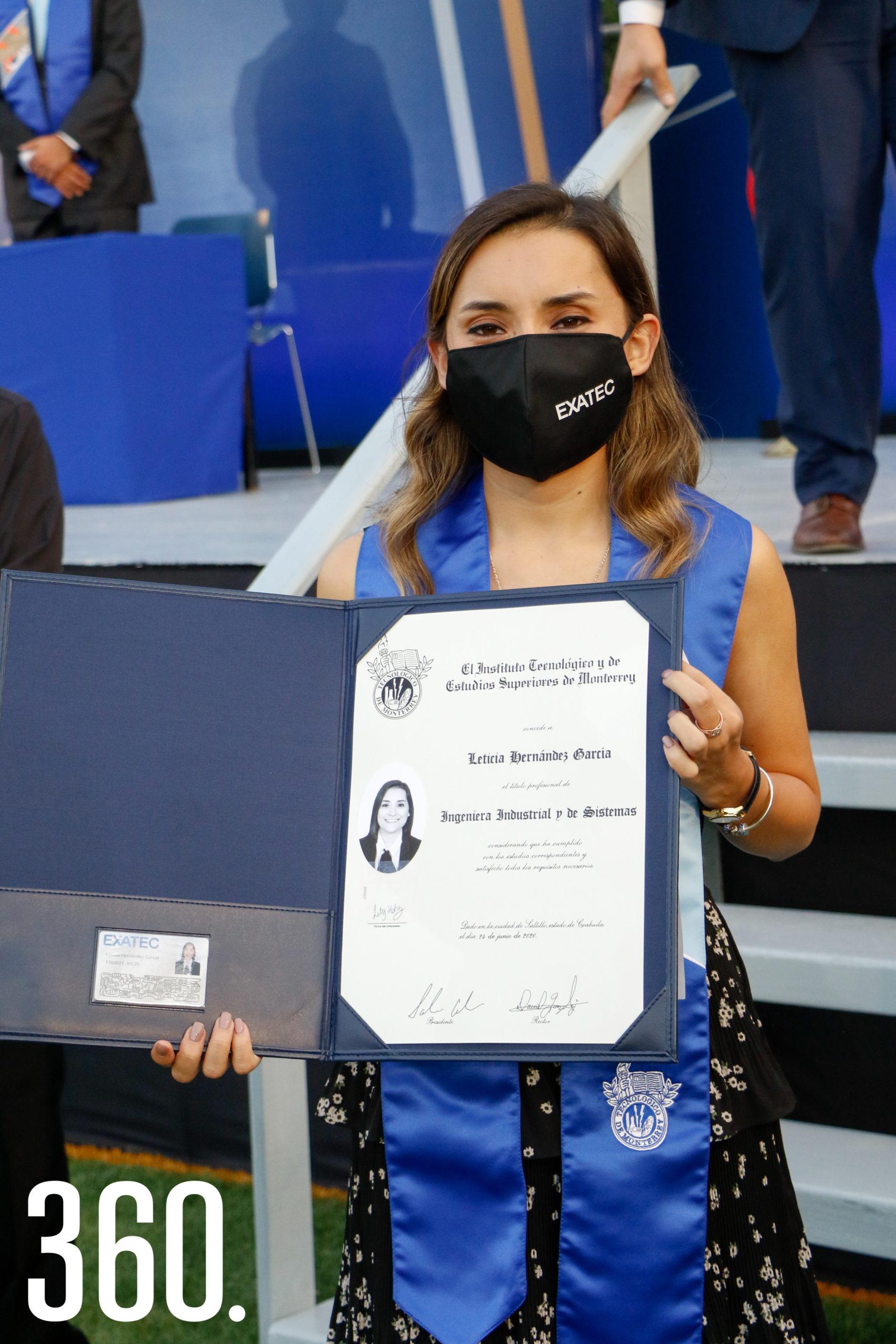 Leticia Hernández.