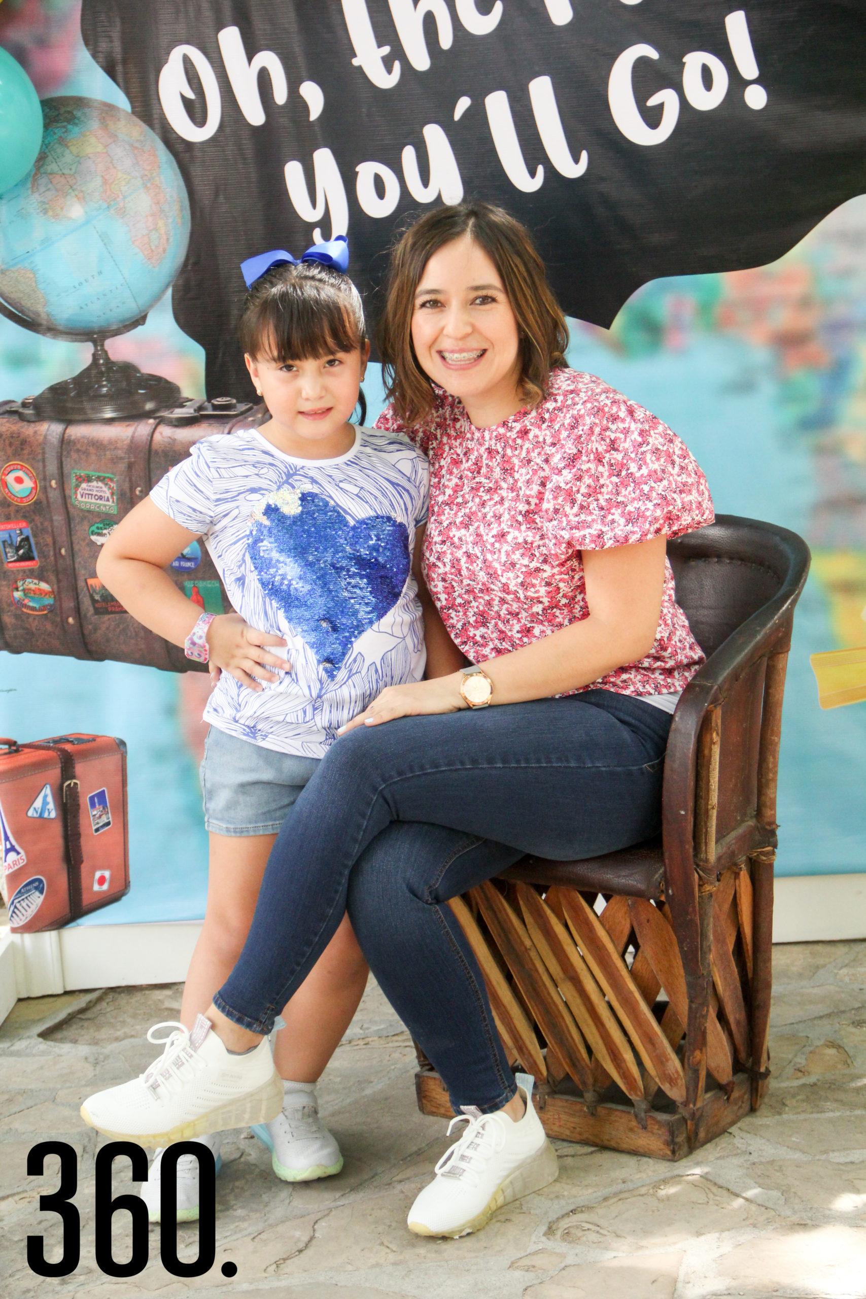 Loreta Figueroa y Bárbara Castilla.