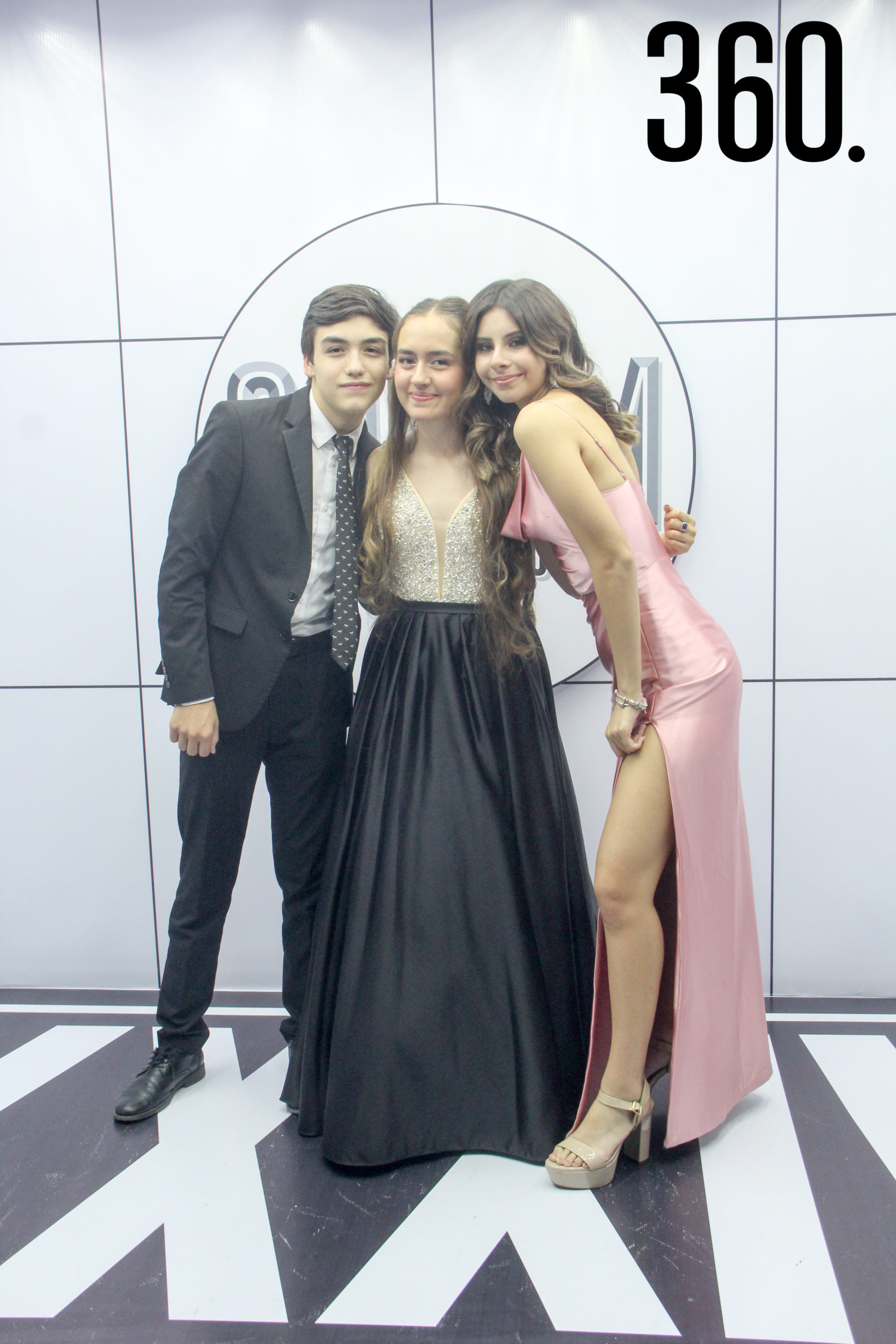 Gabriel Pérez, Isabella Tolsma y Larissa Siller.