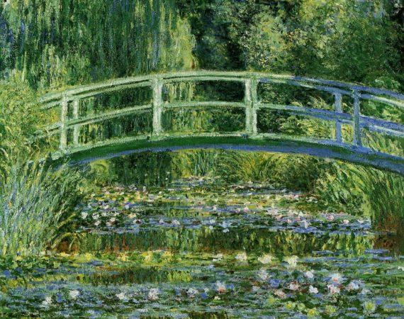"""""""El estanque de las ninfeas, armonía en verde"""", 1899."""