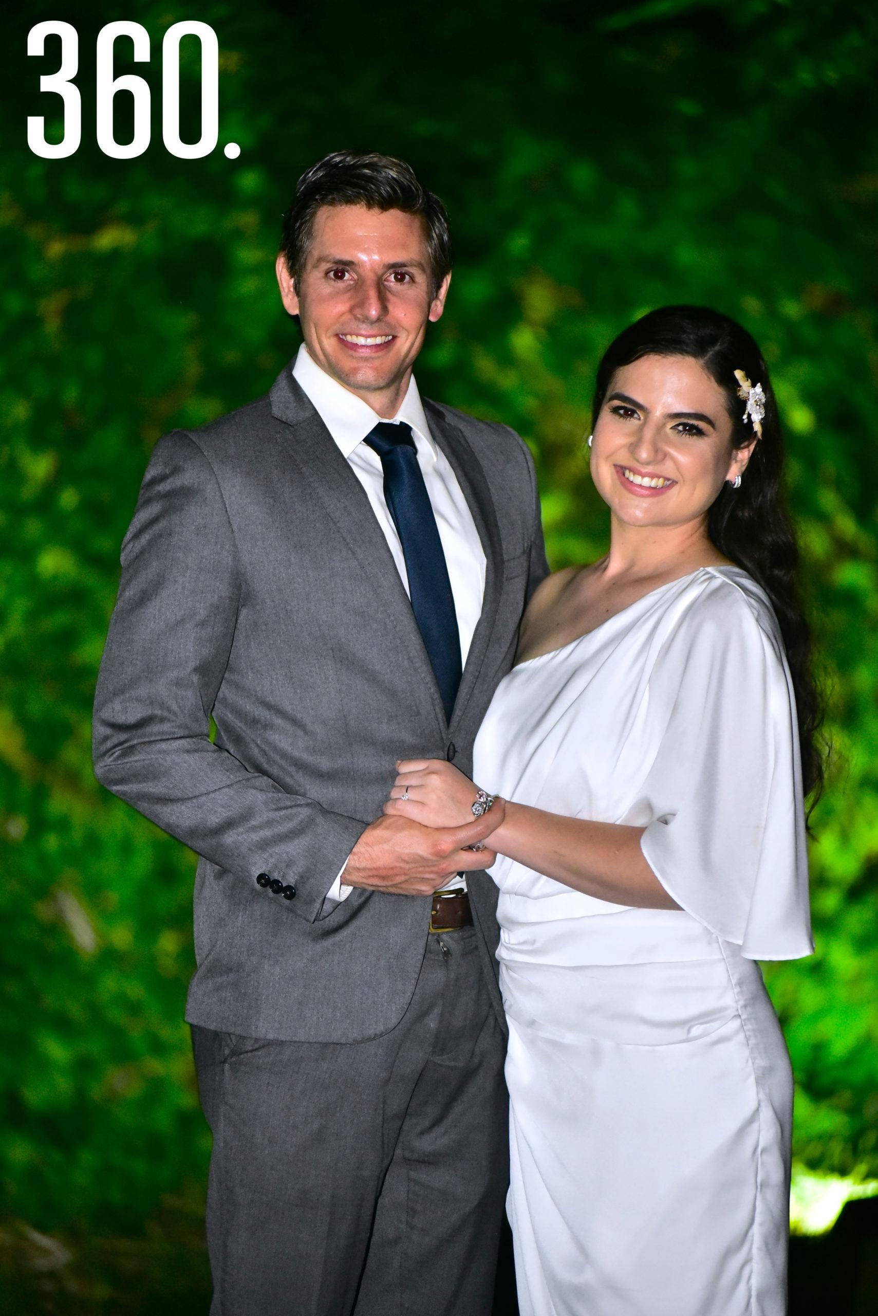 Ana Sofía Saucedo Orta y Gerardo Camacho Sánchez.