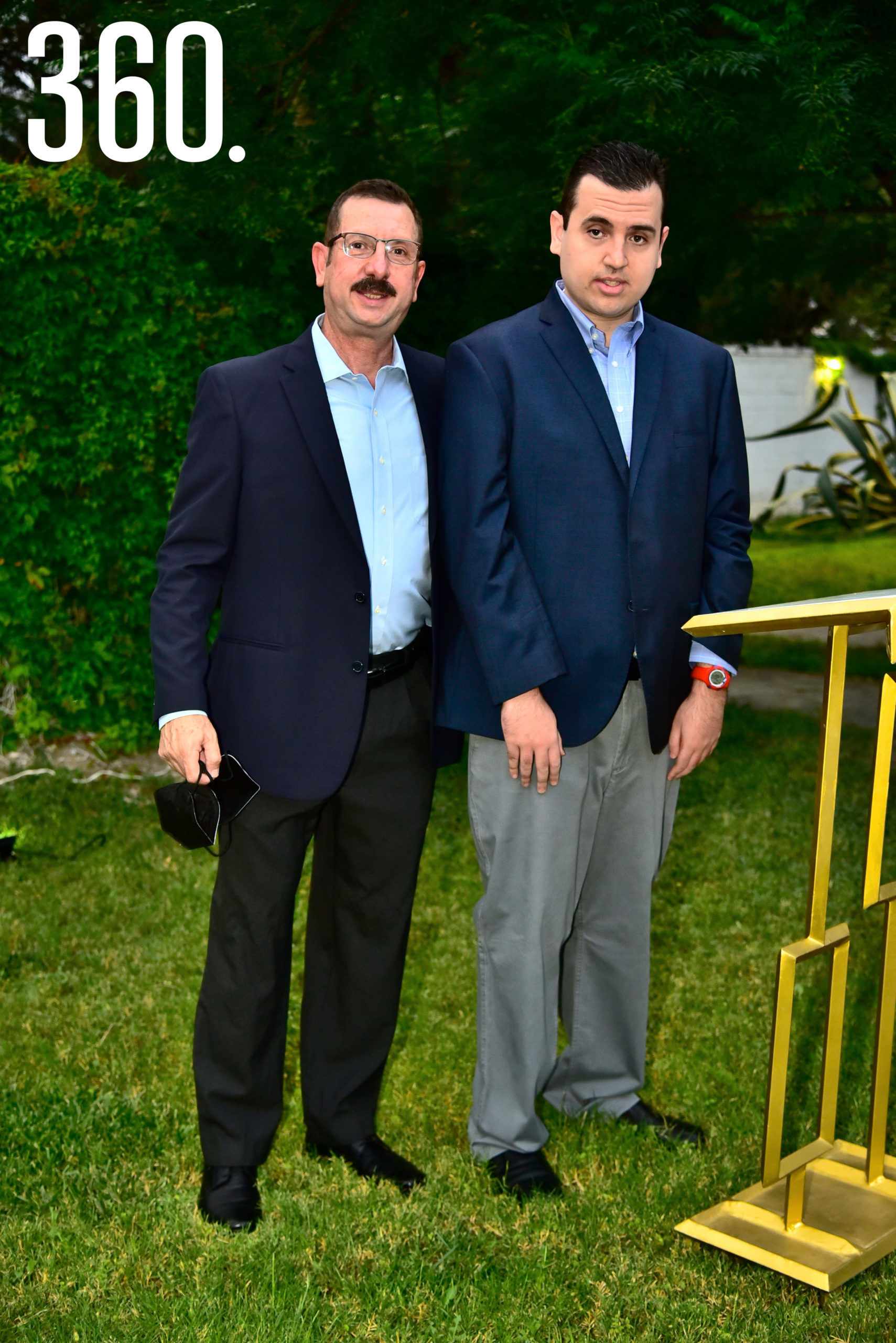 Antonio Saucedo y Luis Fernando Saucedo.