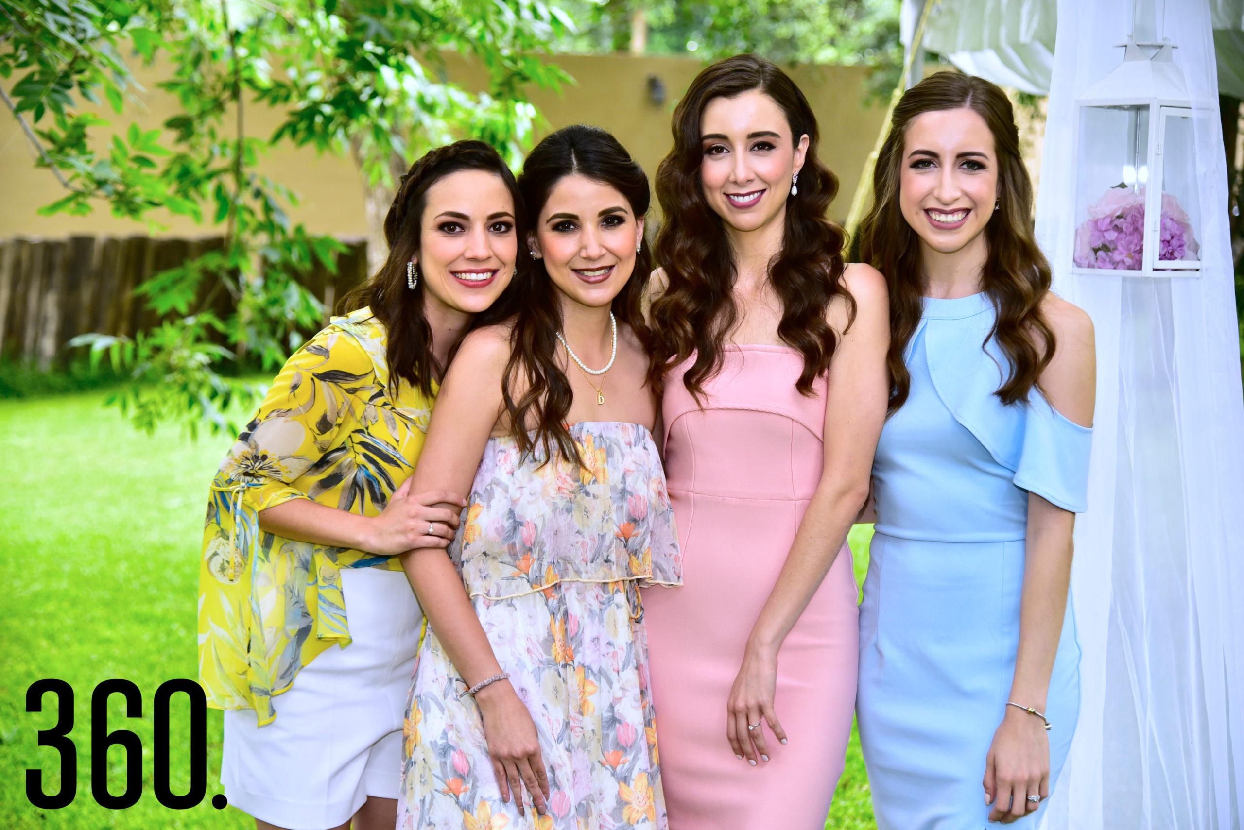 Karla Treviño, Daniela Treviño, Sofía Elguezabal y Valeria Elguezabal.