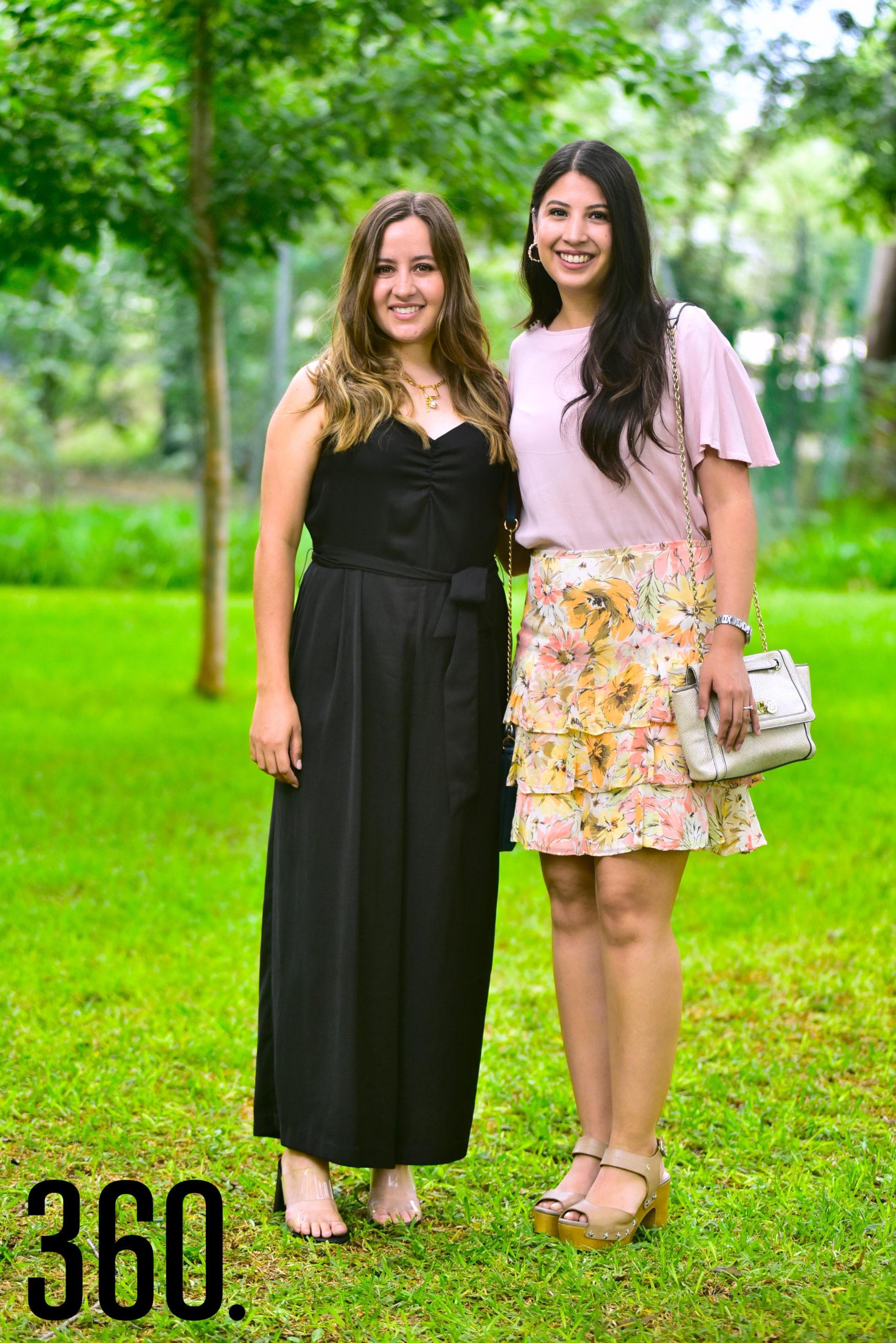 Gaby Dávila y Ana Sofía Tovar.