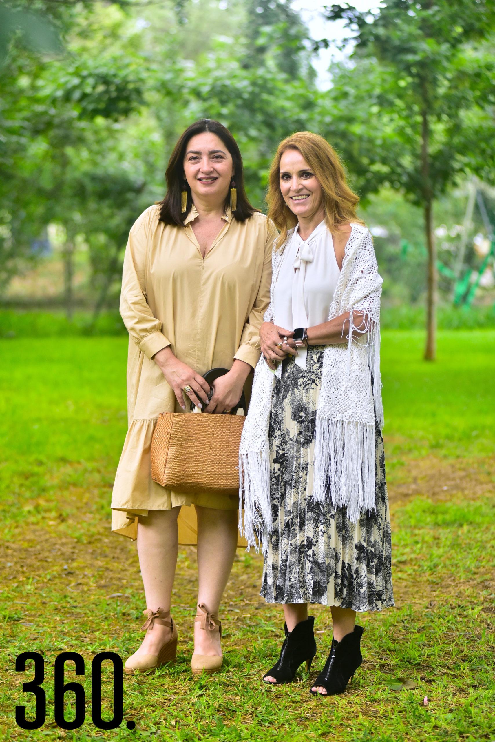 Beatriz Belden y Queta Ramos.