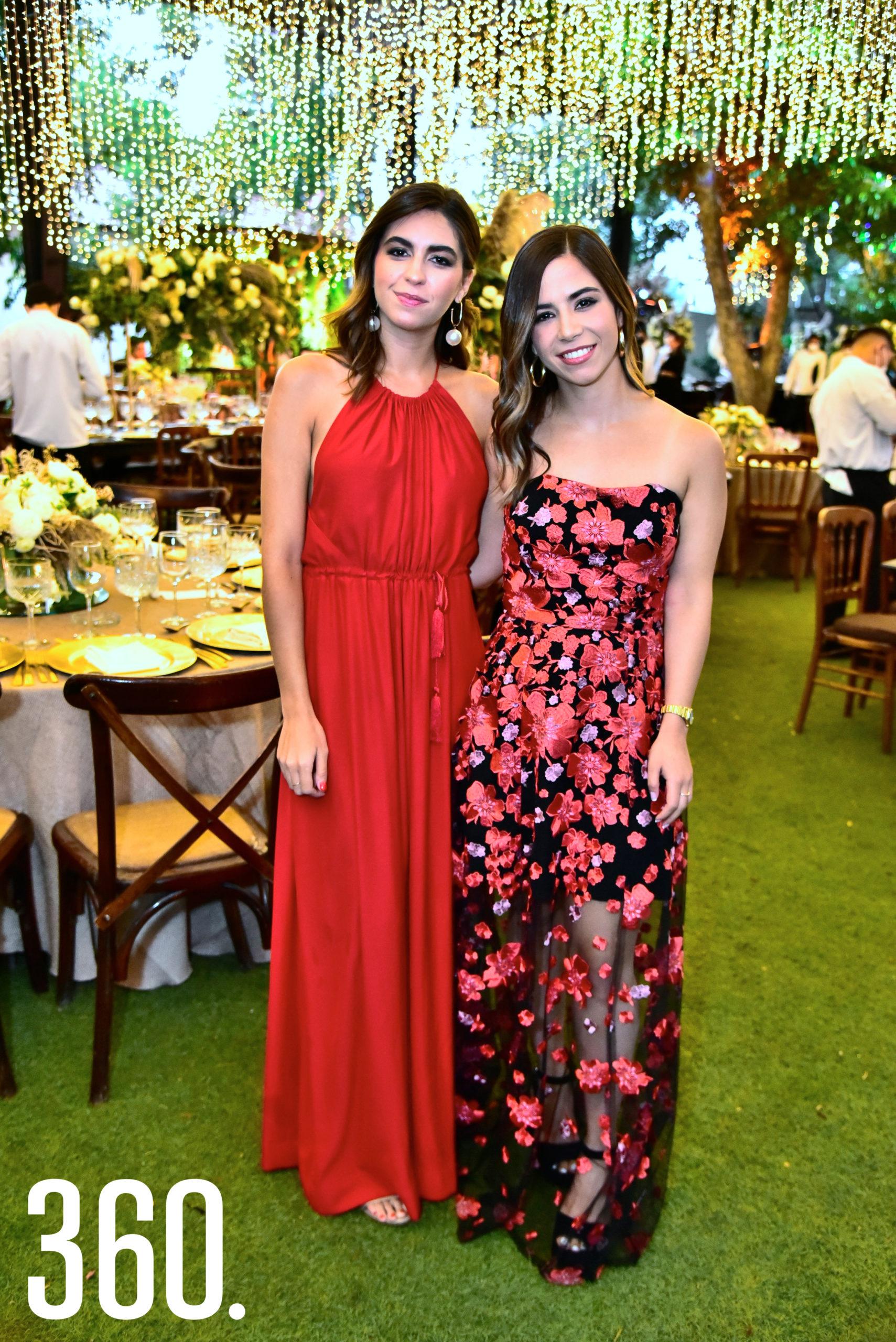 Romina Varela y Nayibe Sabag.