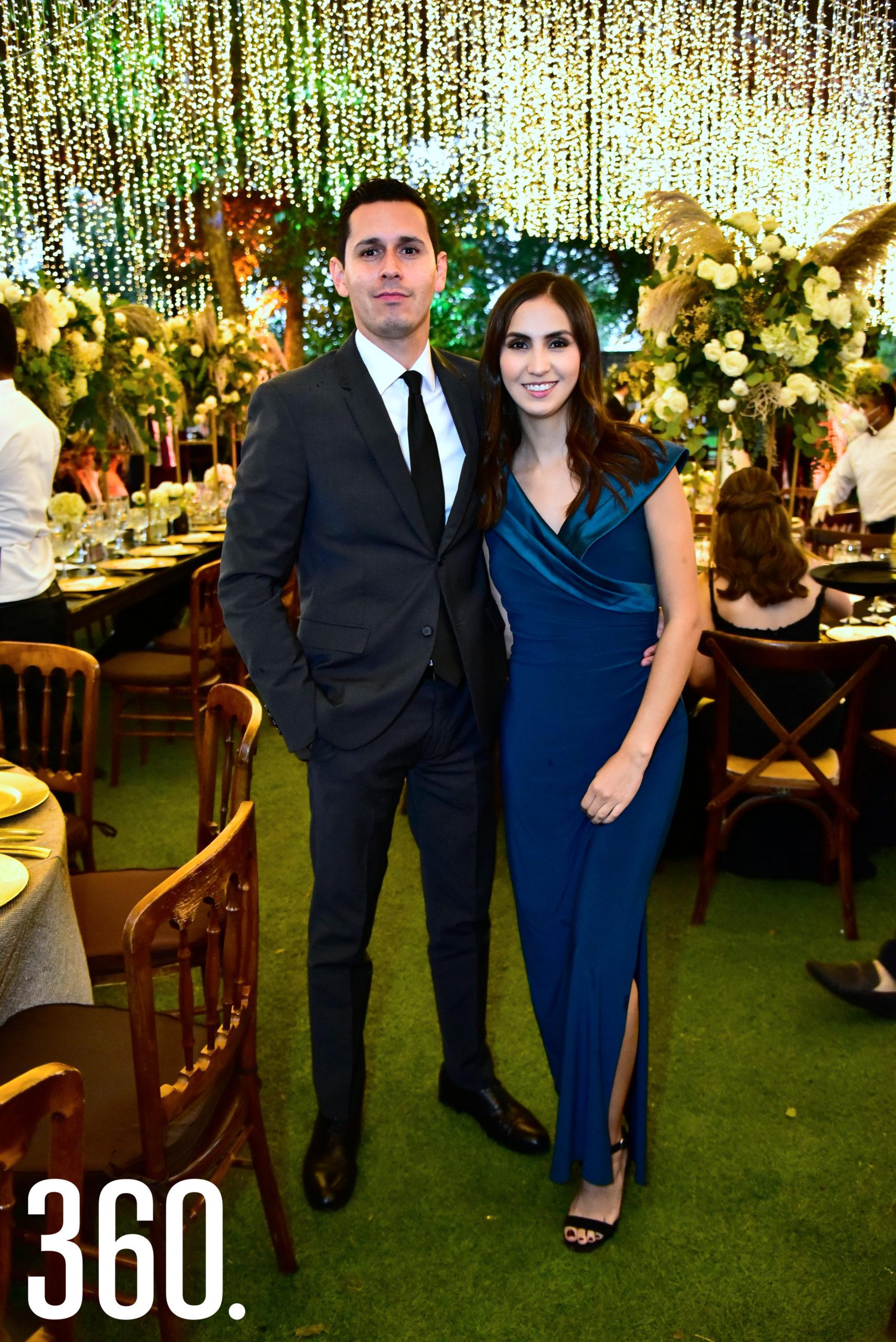 Rogelio Morillon y Paulina Rodríguez.