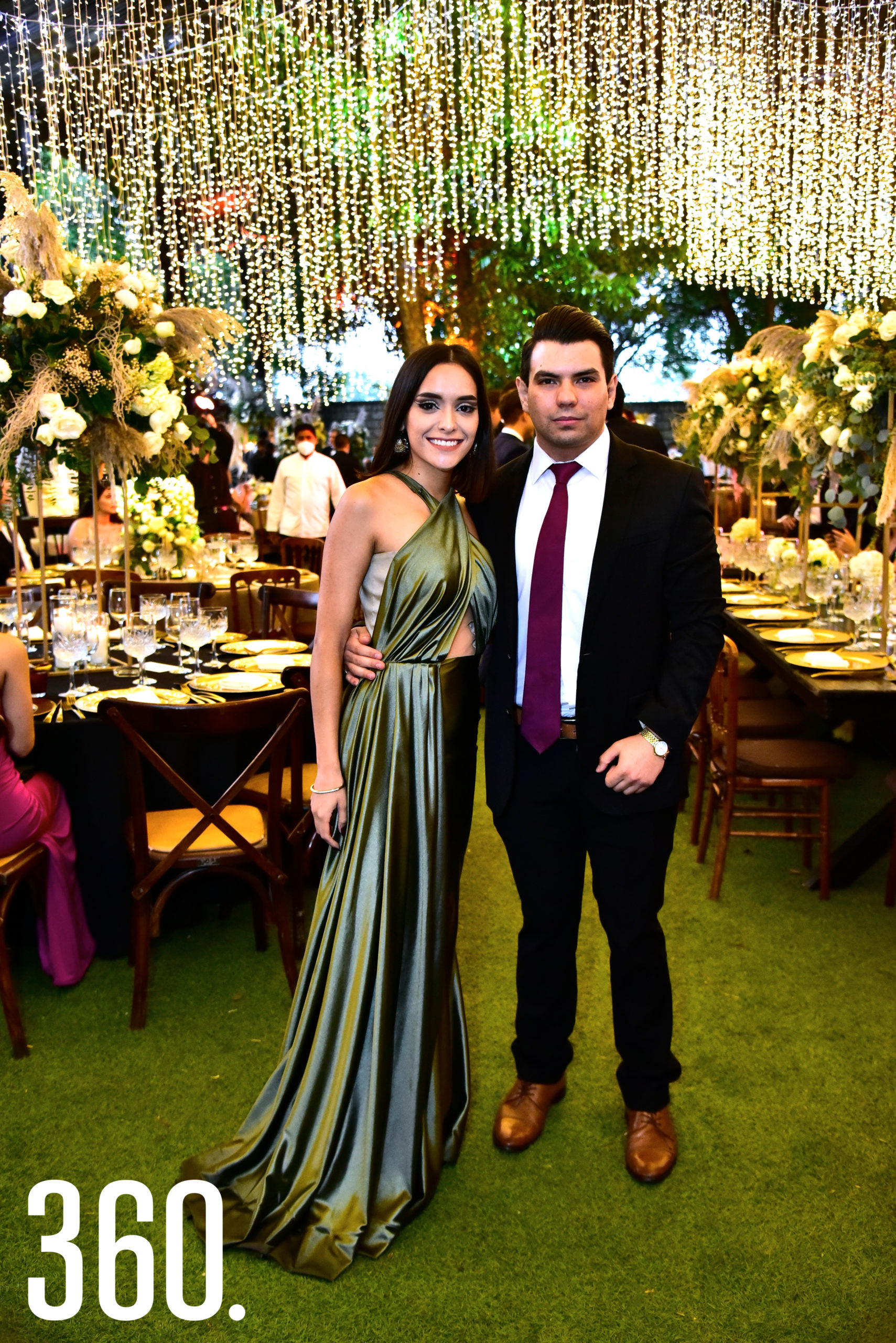 Ximena Sarmiento y Diego González.