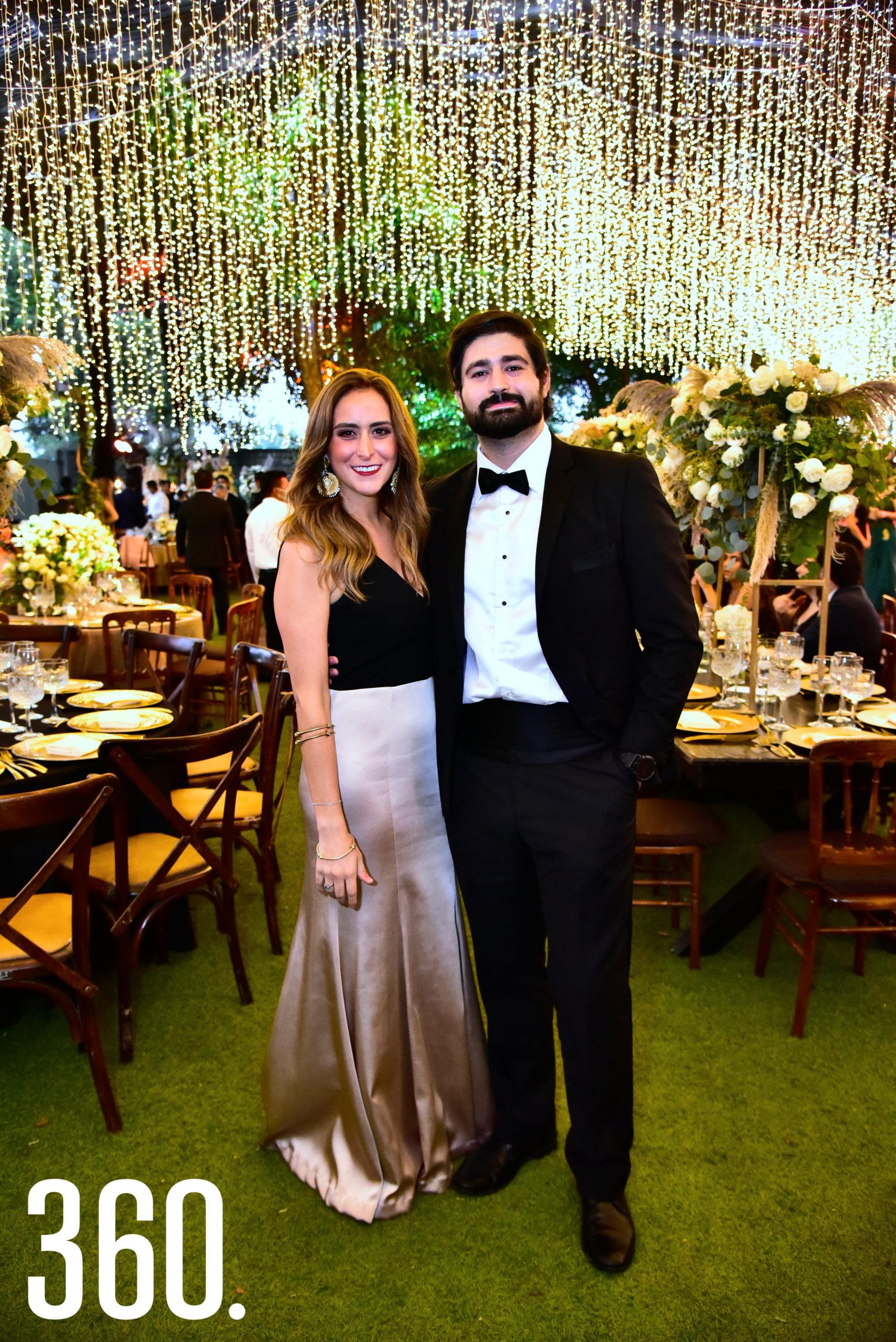 Beatriz Gómez y Arturo Garza.