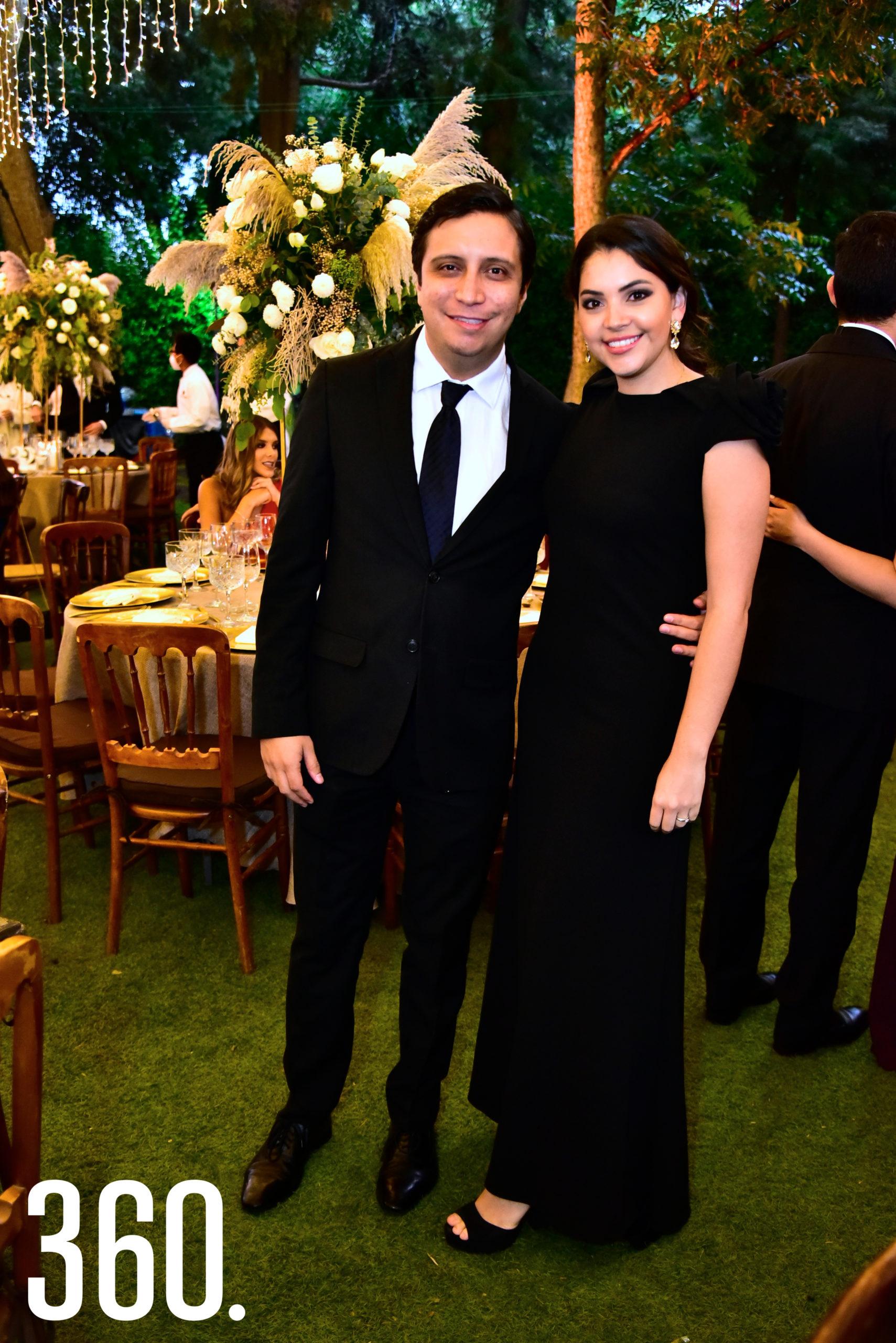 Oscar Gutiérrez y Ana Cristina Chávez.