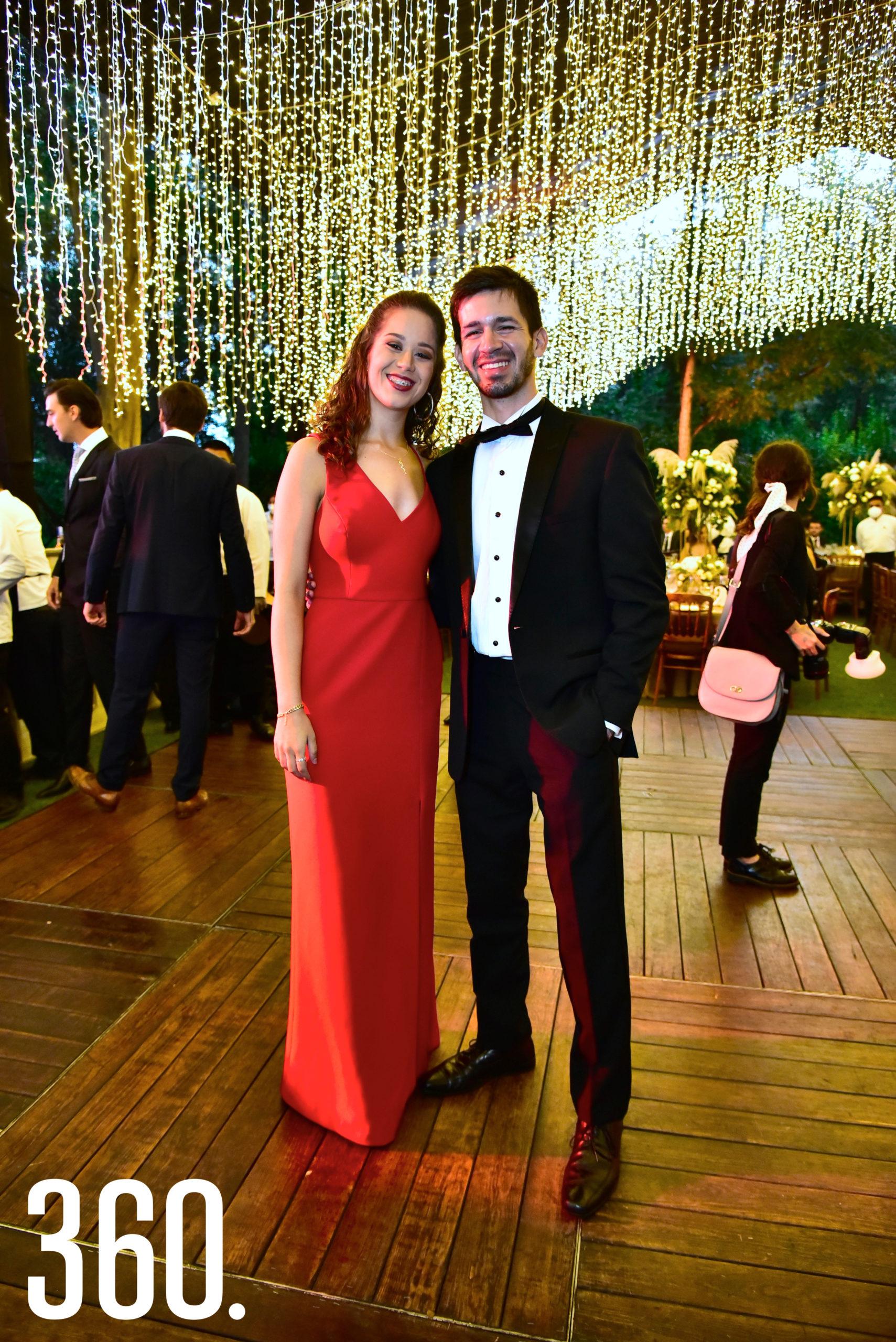 Fernanda Vásquez y Daniel Vásquez.