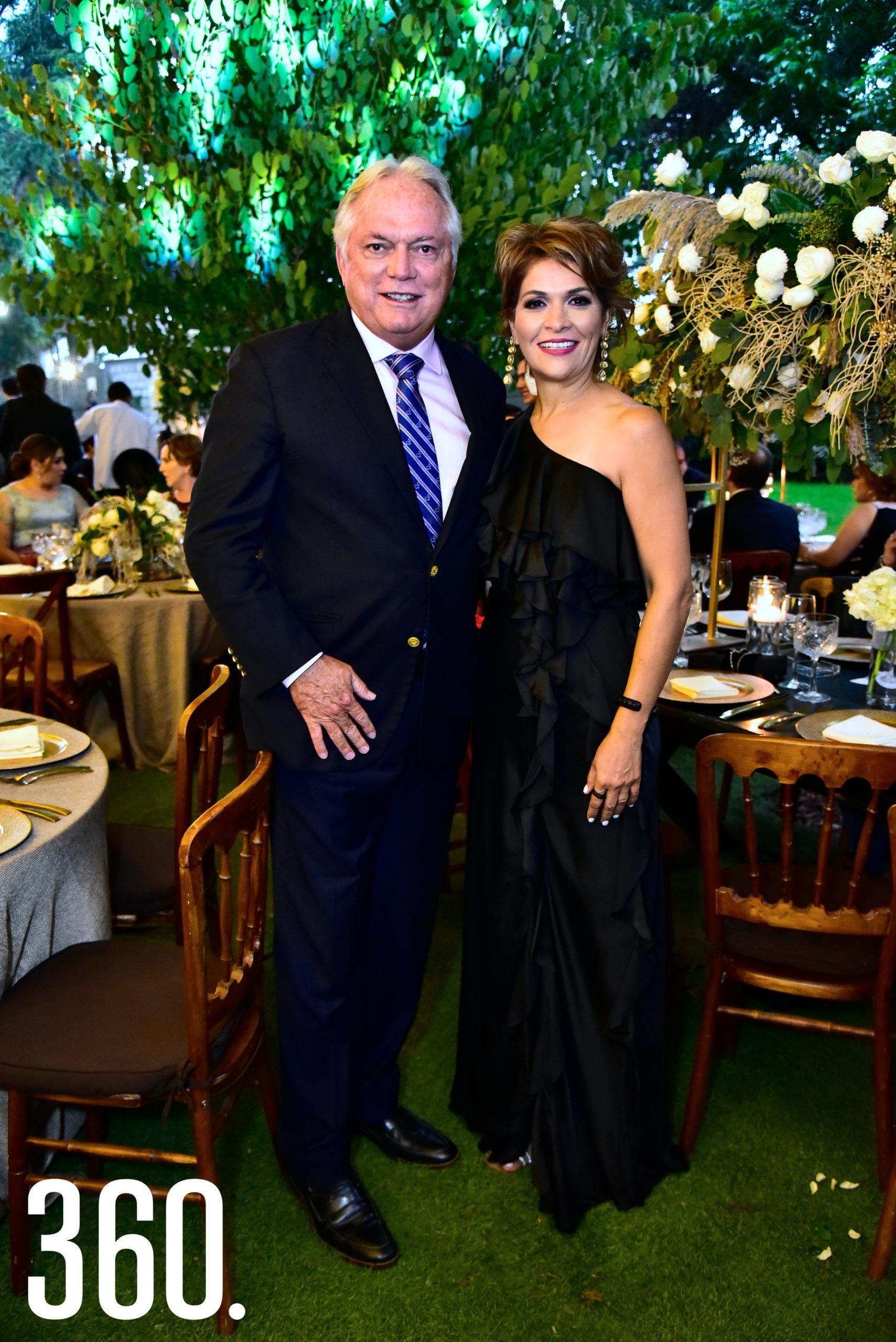 Jorge Robleda e Ileana Ovalle.