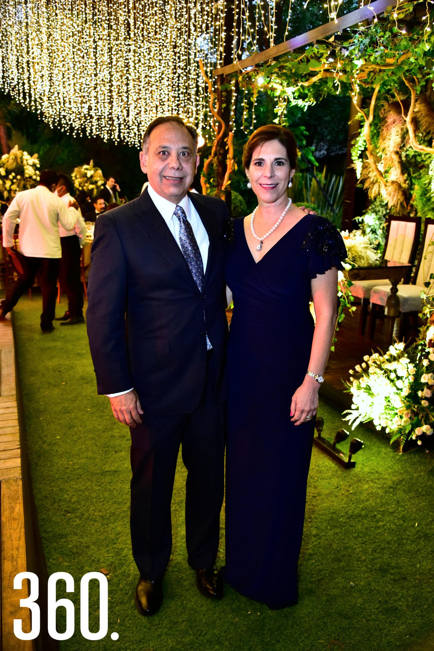 Jorge Del Bosque y Leticia Ochoa.