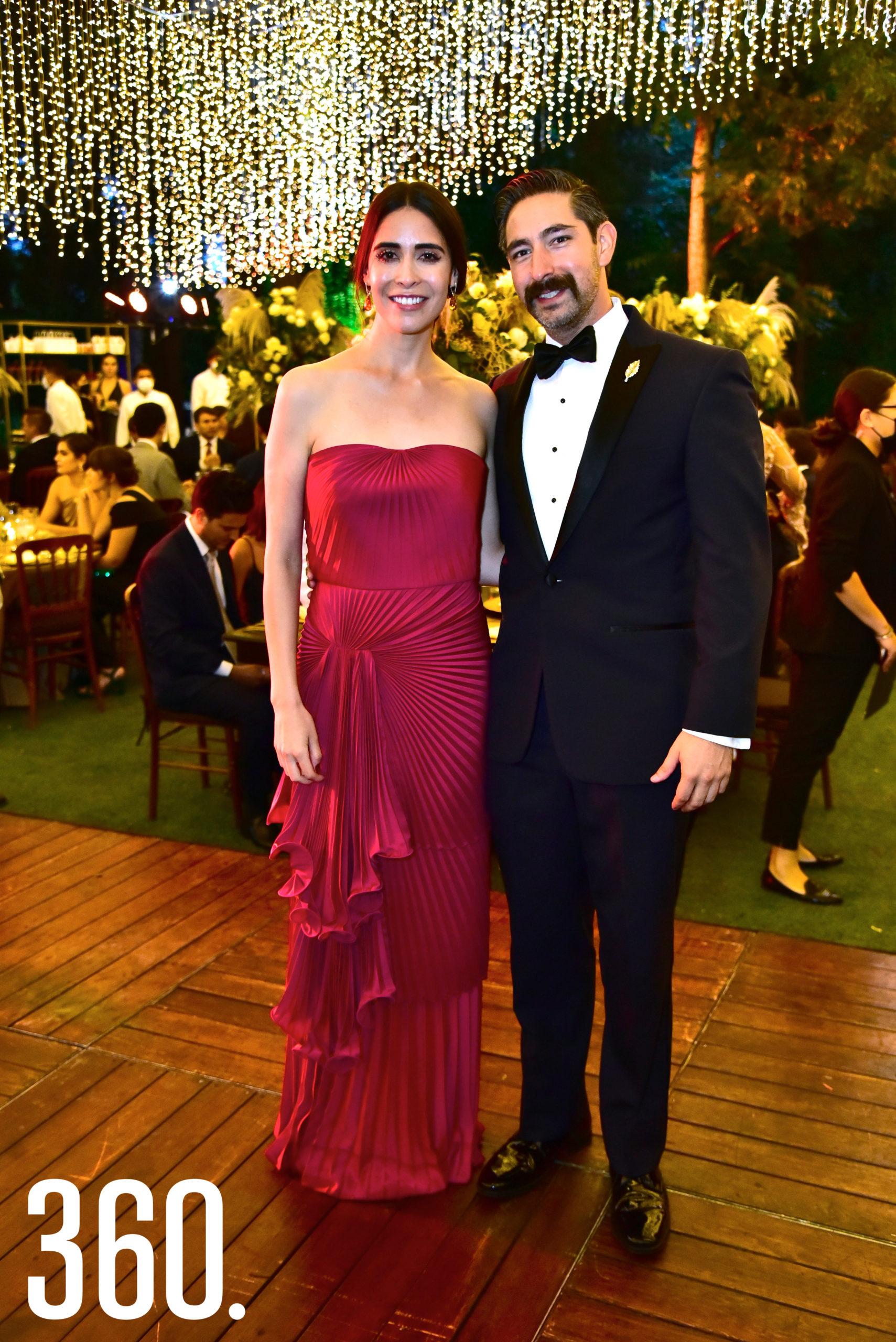 Ana Leticia Chávez y Paco Valdés.