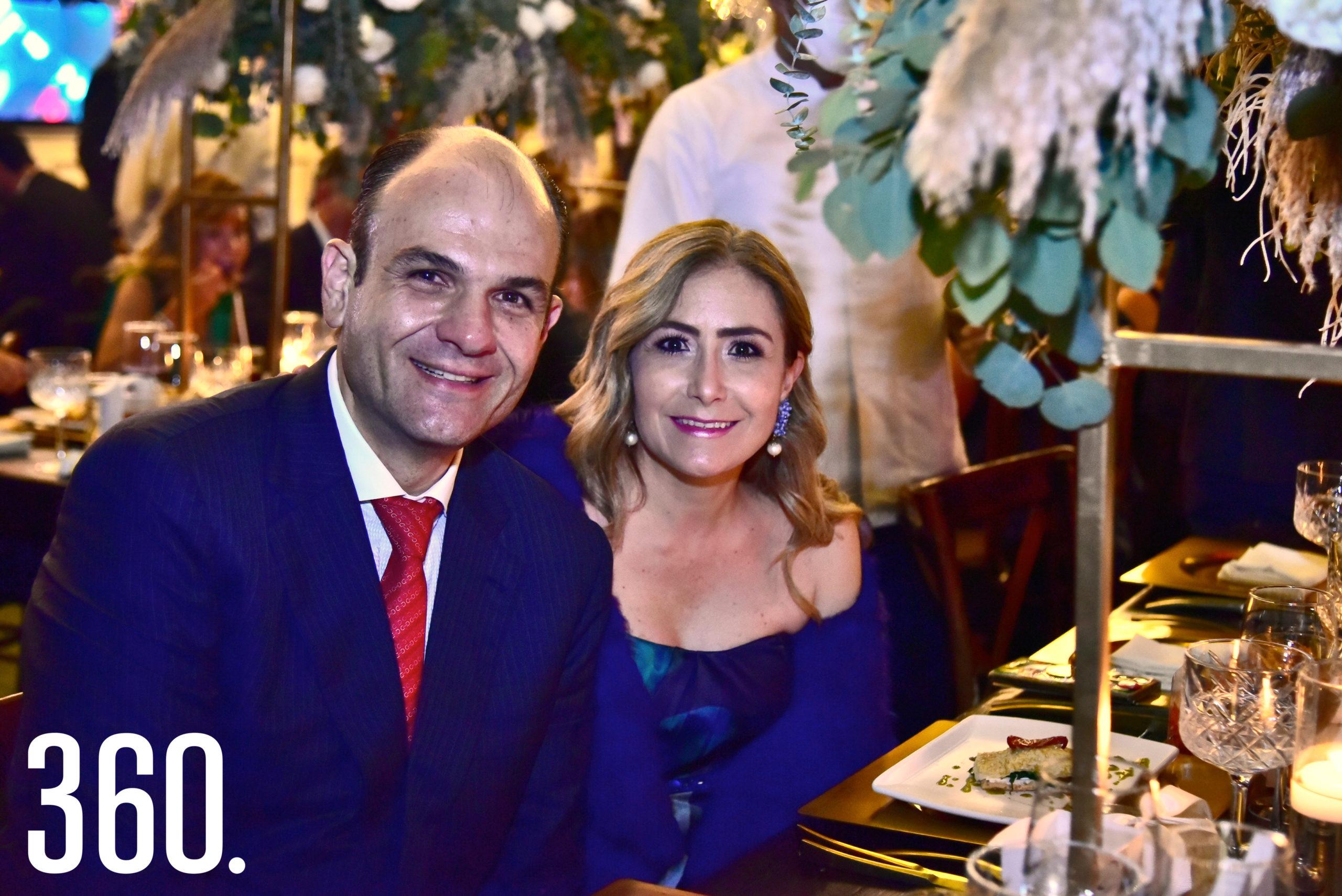 Jericó Abramo y Bertha Gutiérrez.