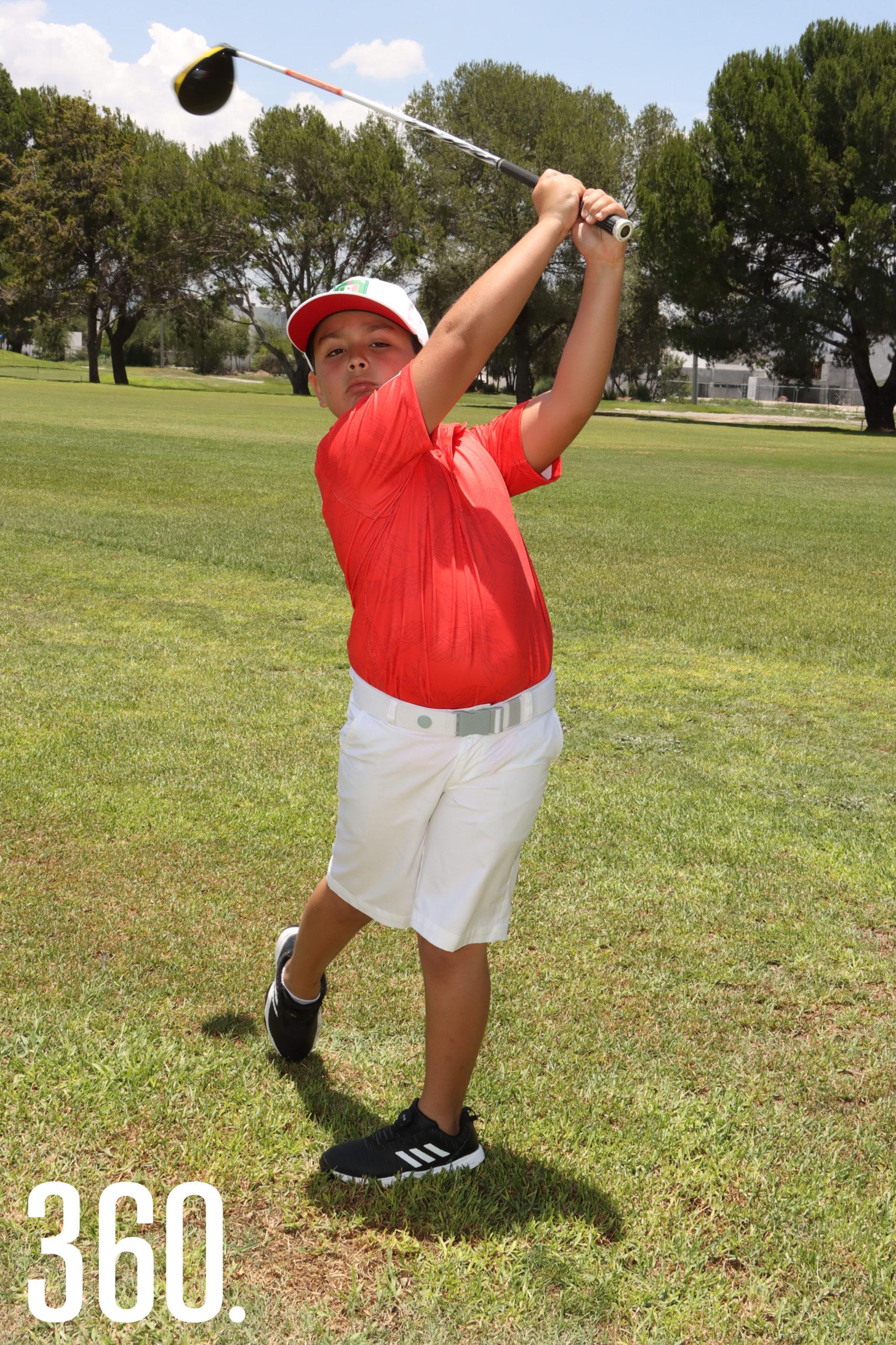 """Román Cepeda Dewey participará en """"13avo. Future Champions Golf Callaway World Championship"""", en la categoría de 8 años y menores."""