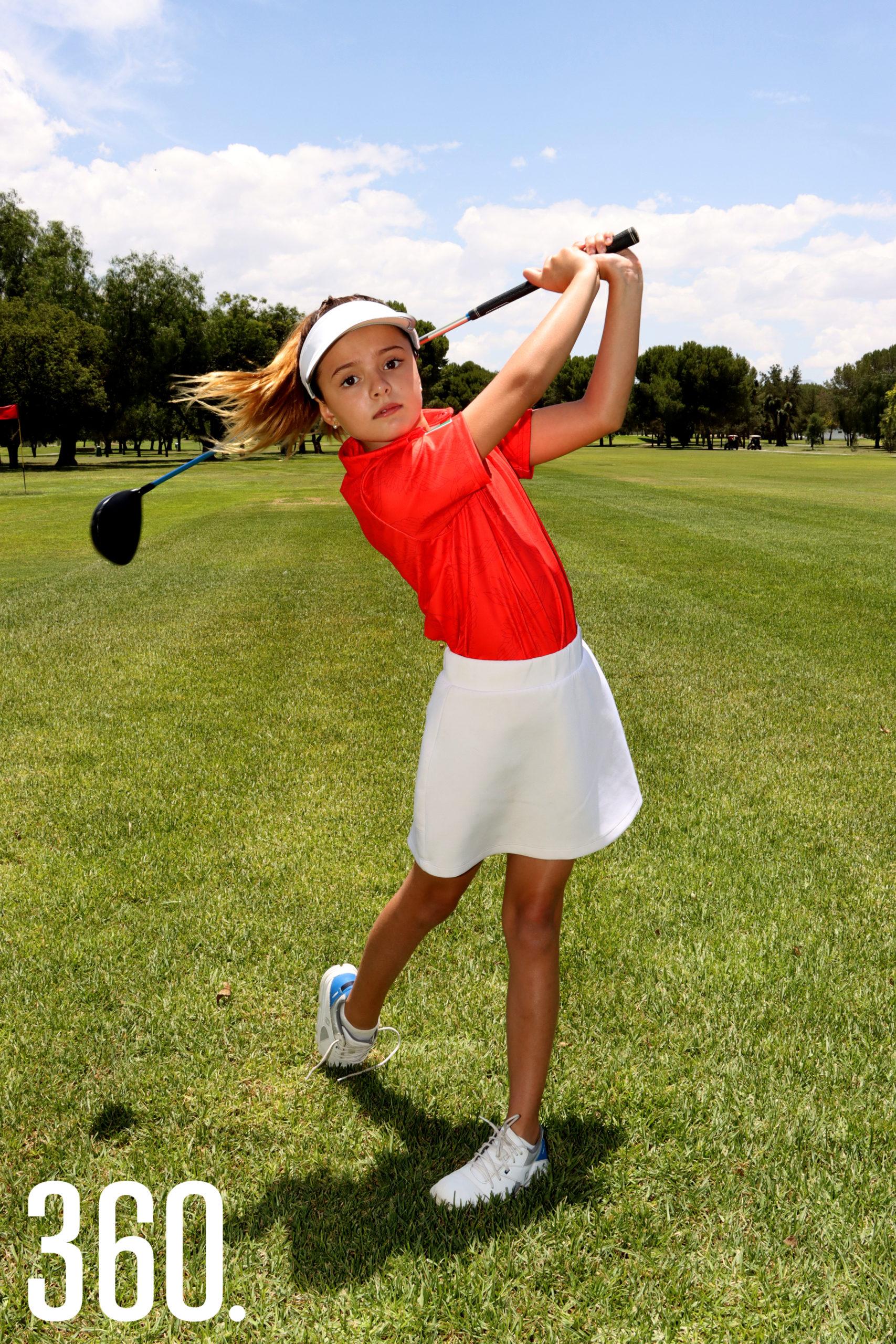 """Elsa María López Ruiz, participará en la categoría 9 años del torneo """"US Kids World Championship 2021"""", en Pinehurst, Carolina del Norte."""