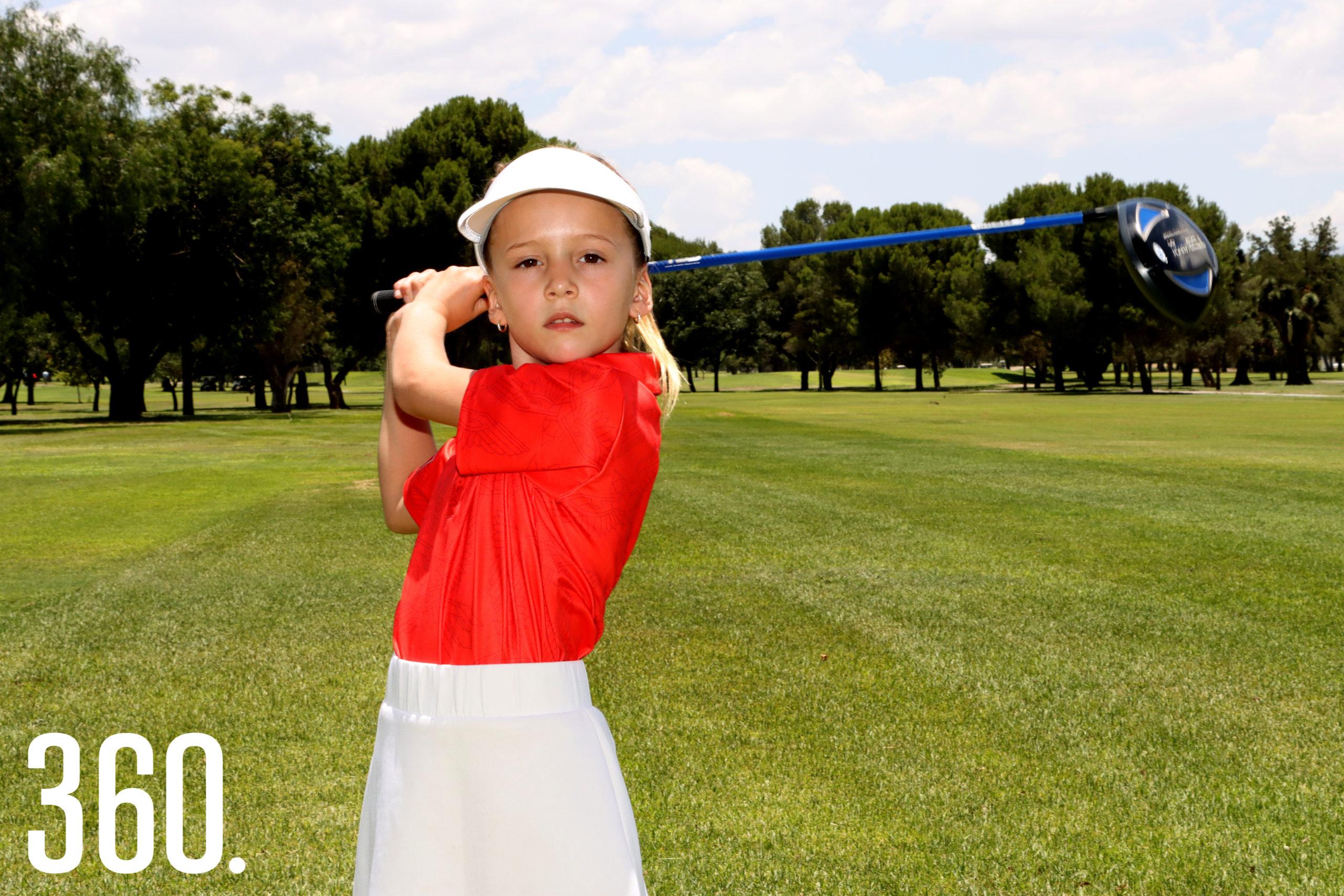 Mariel López Ruiz, jugará en la categoría 7 años en Pinehurst, Carolina del Norte.