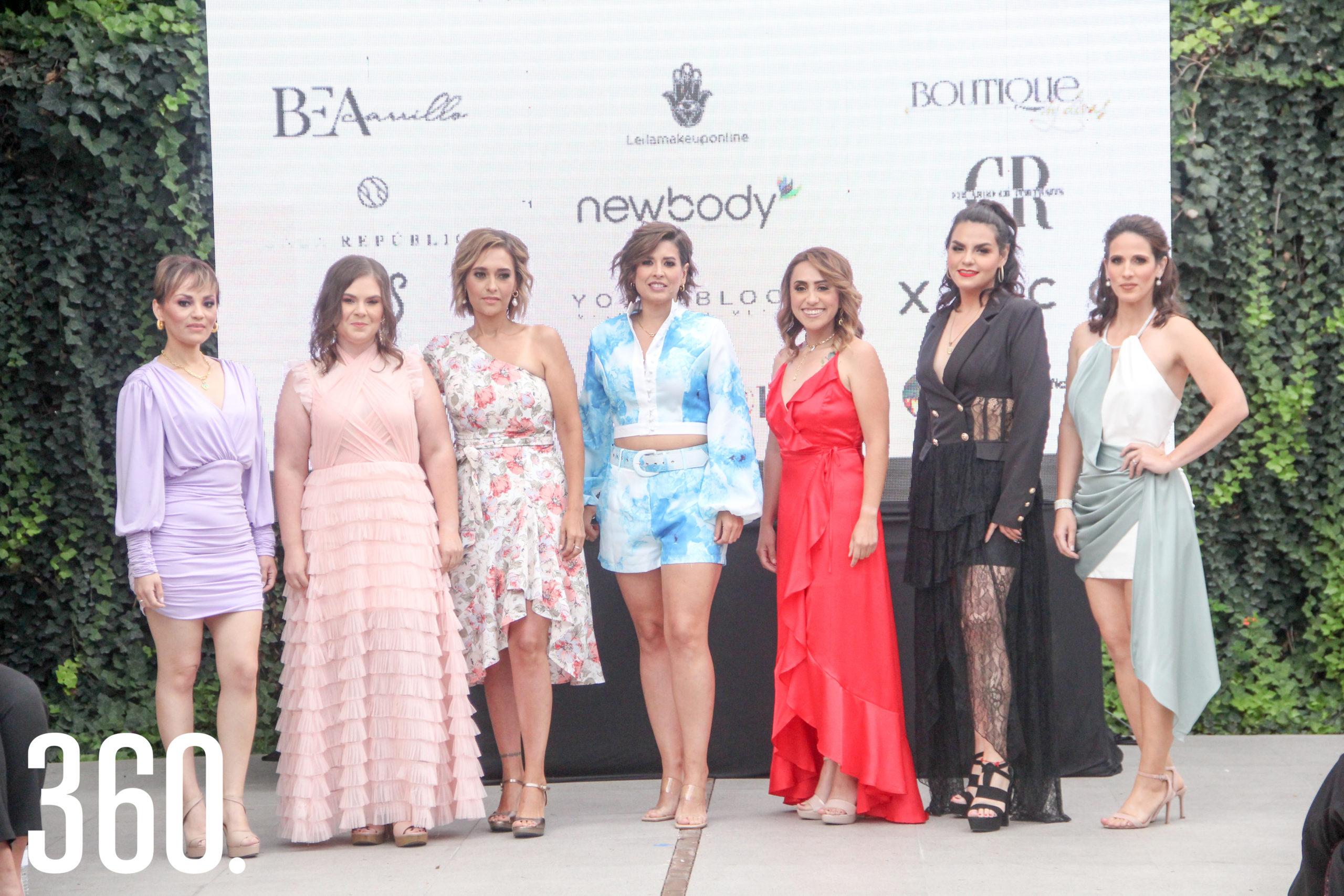 Leslie Almazán, Aurora Gámez, Melissa Zamora, Ari Villarreal, Paty Monroy, Dariela de Hoyos y Sarai Torres.