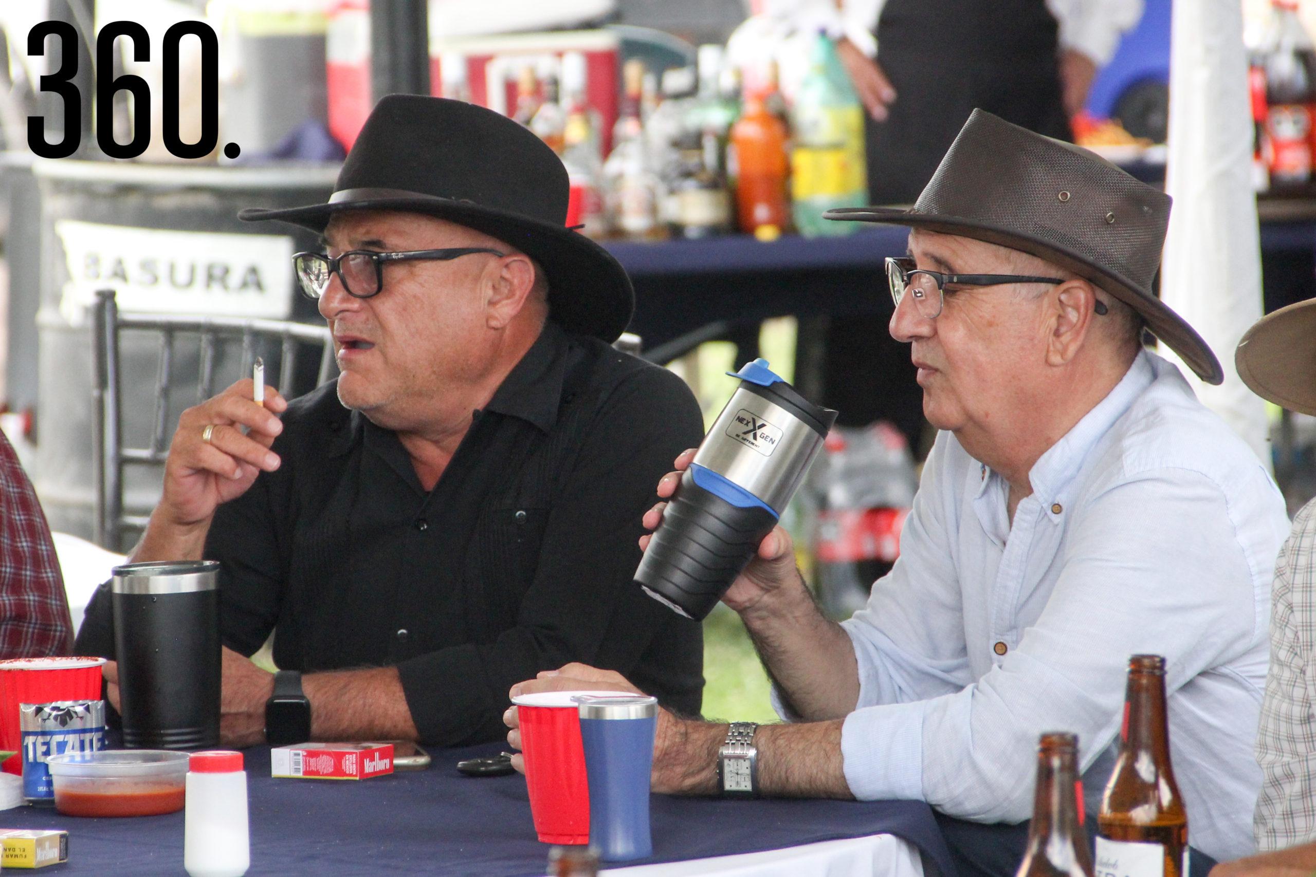 Luis Mario Sánchez y Ernesto Dávila.