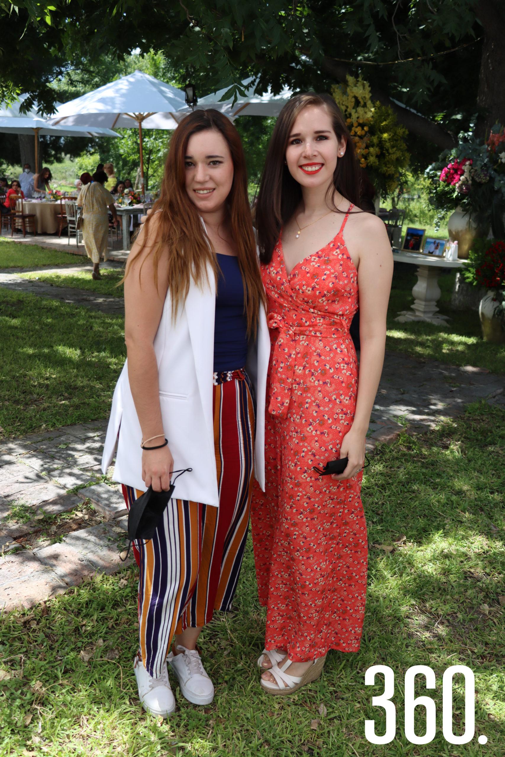 Carolina Stroppiana y Ana María Pérez.