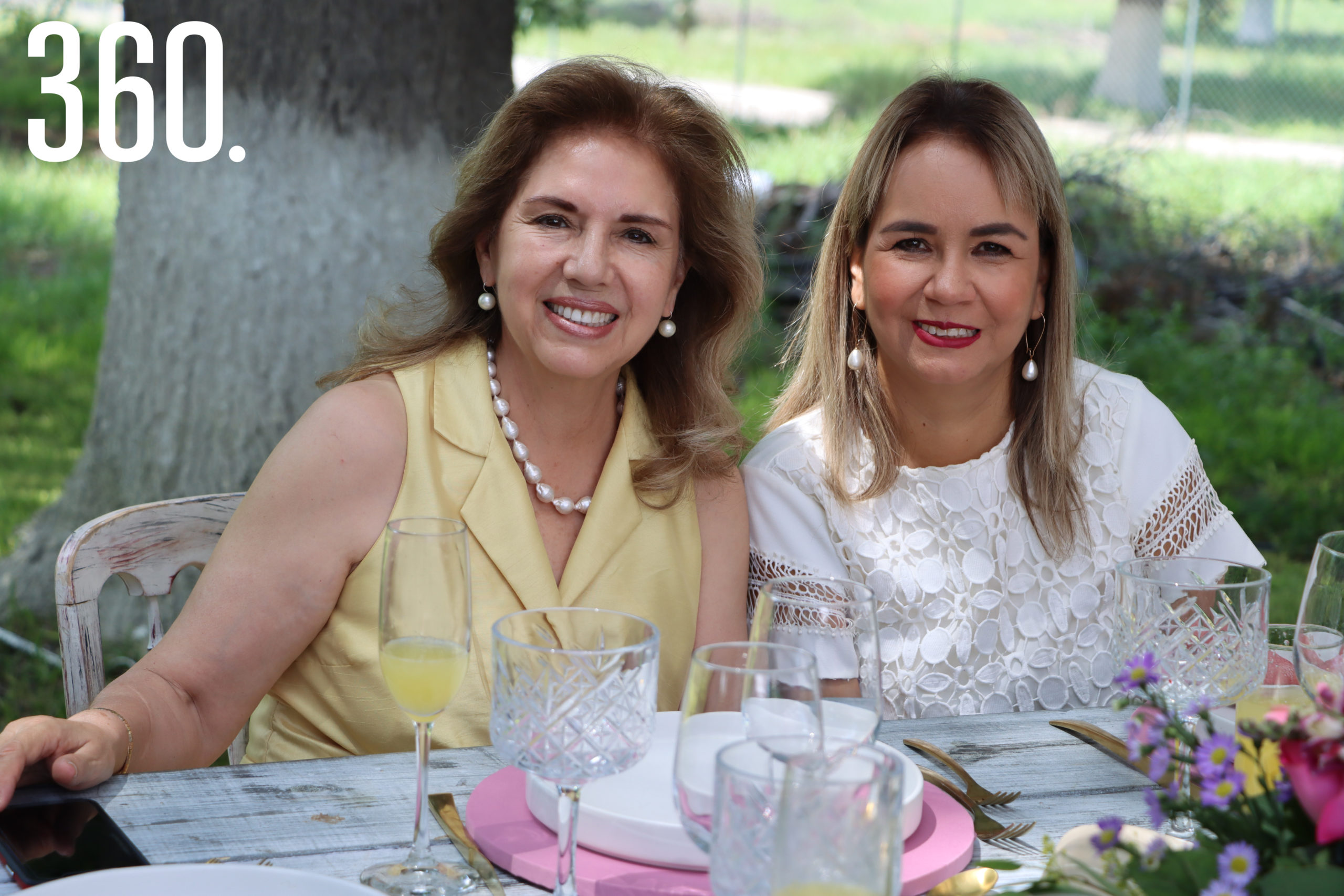 Lucila Ruiz Muzquiz y Laura de Villarreal.