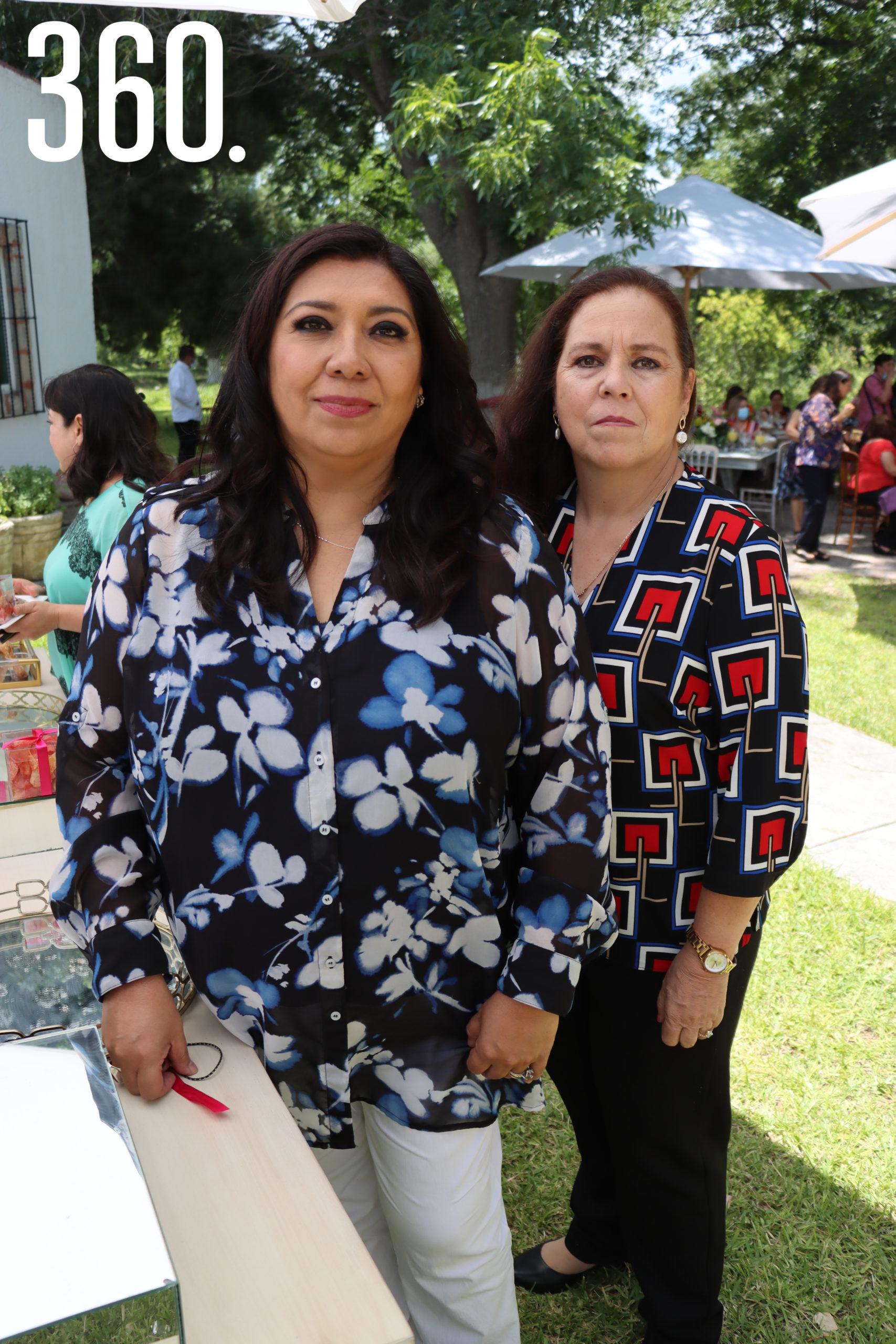 Mayte Loera y Cecy Cárdenas.