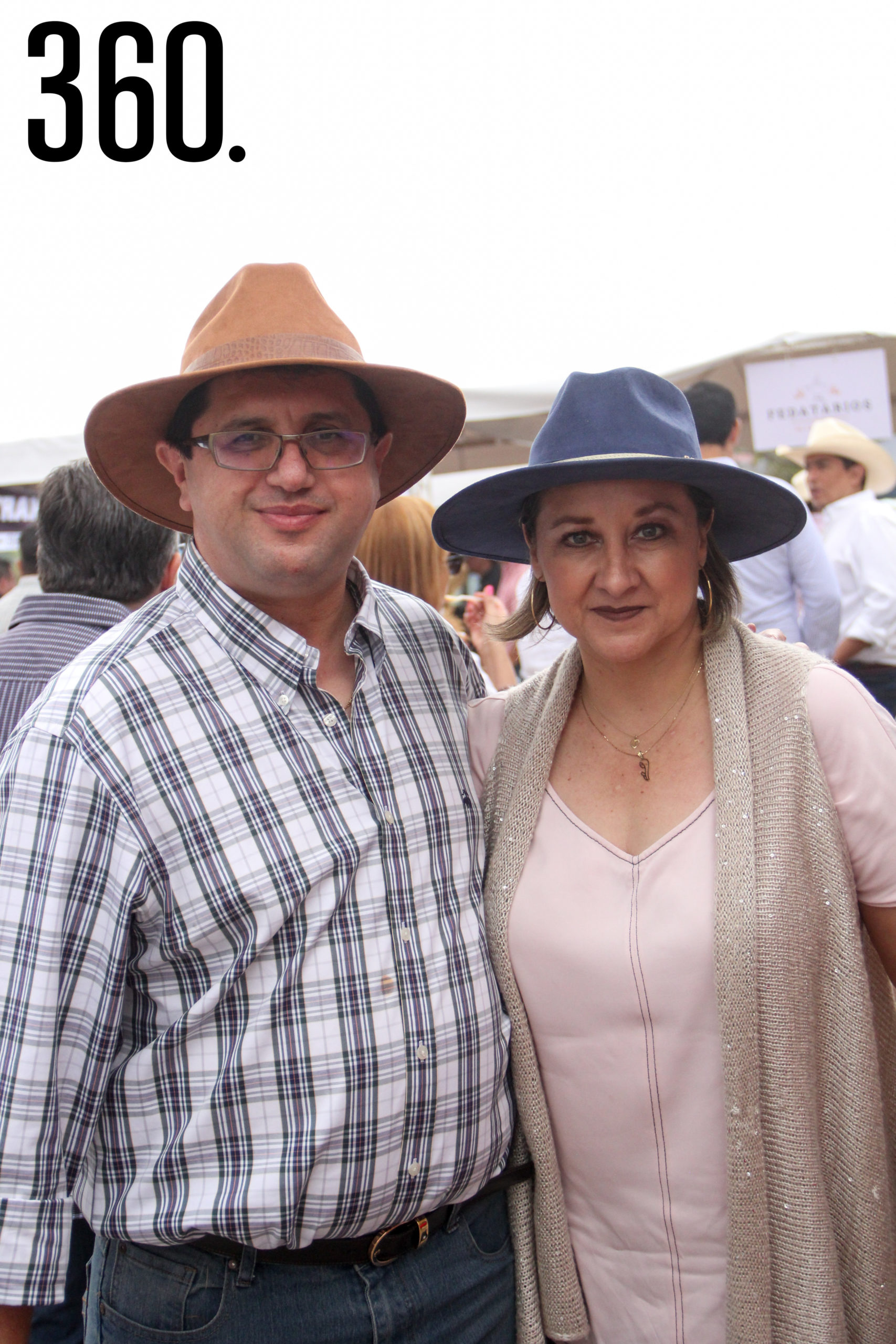 Octavio García e Hilda Ríos.