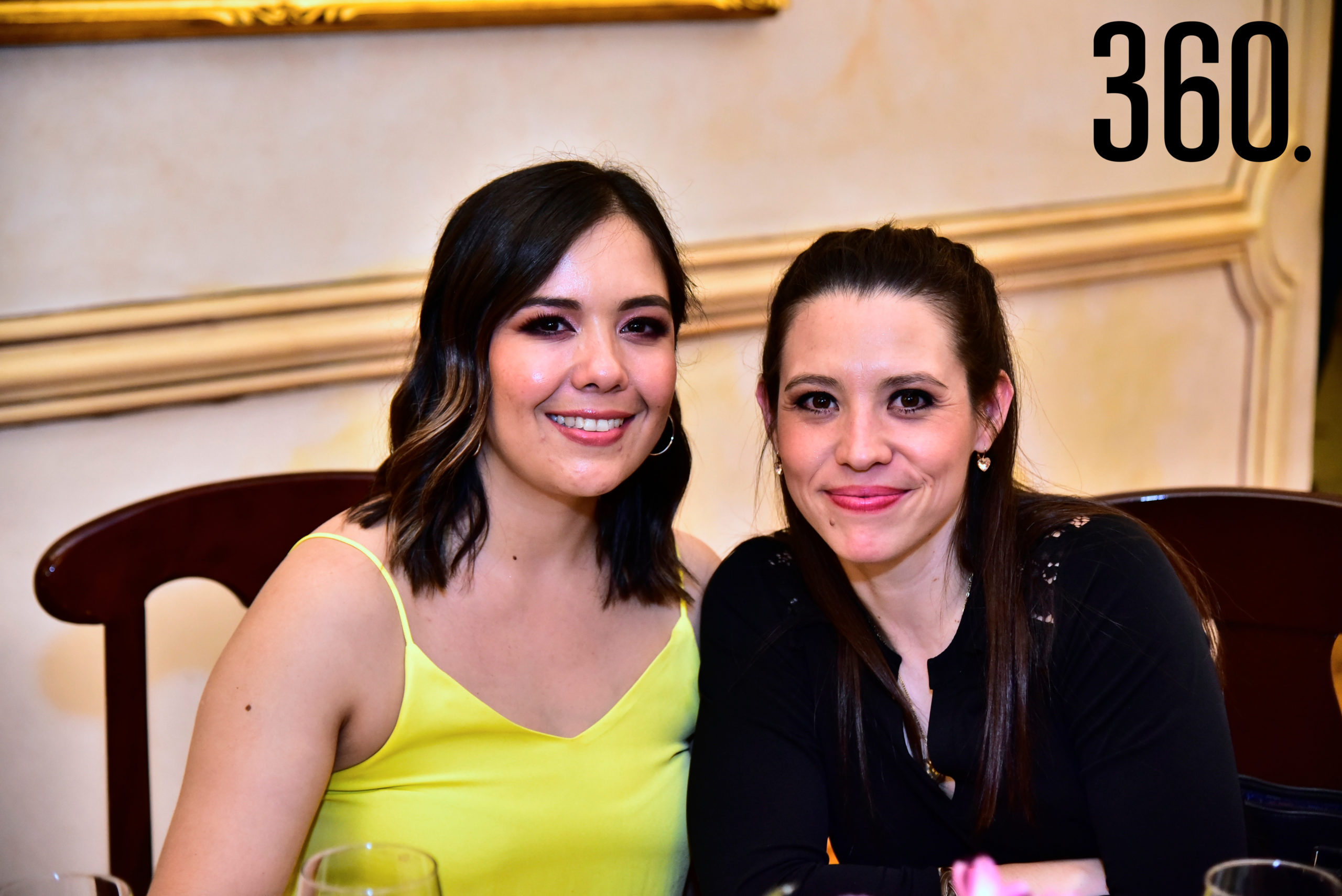 Tania Gil y Silvana Segovia.