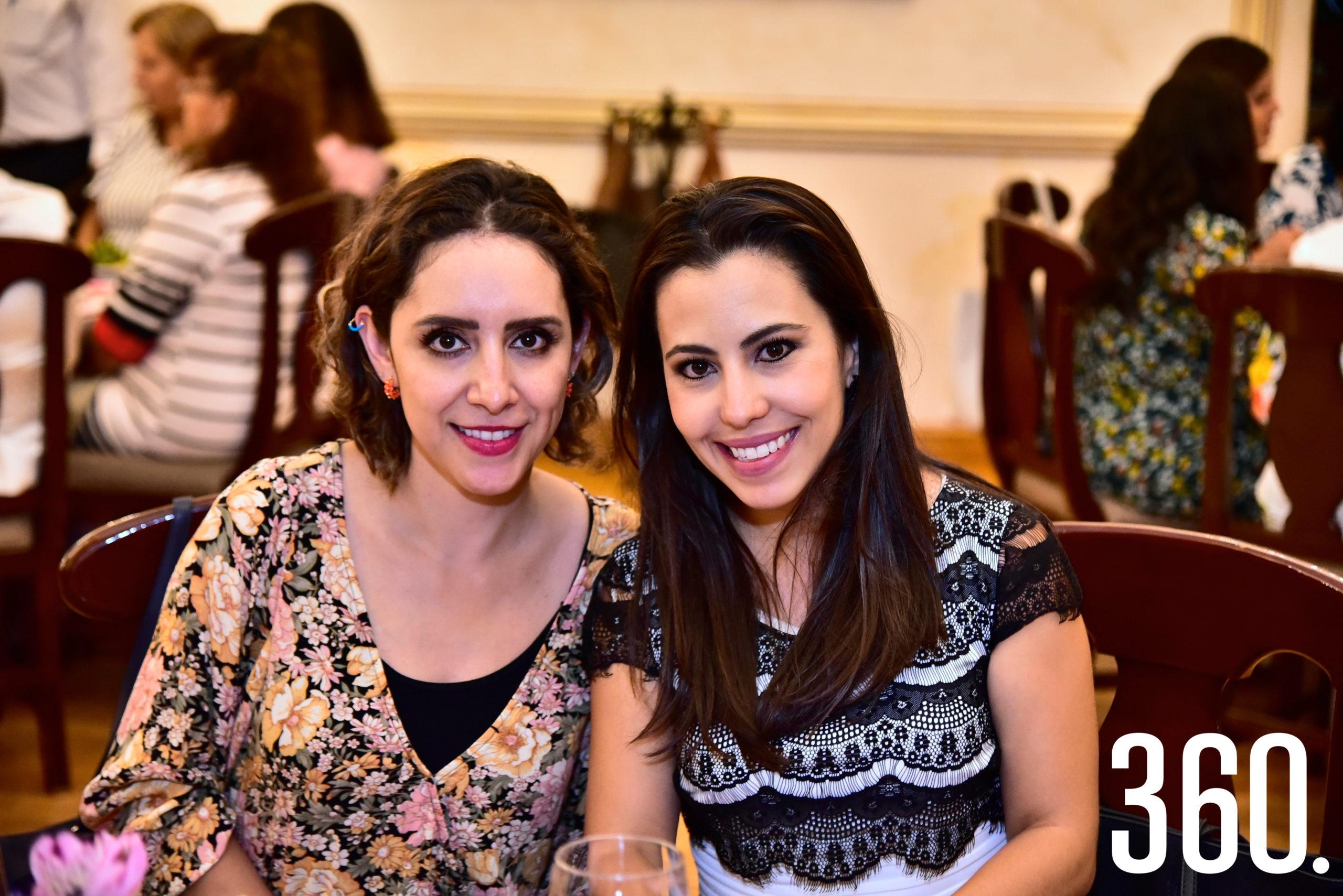 Karina Sánchez y Jessica Rivera.