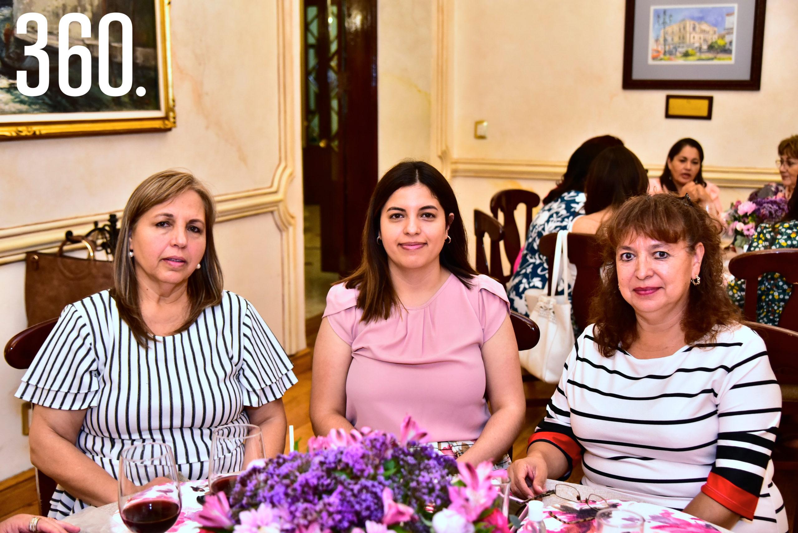 Panchis de la Garza, Berenice Terrazas y Luci González.