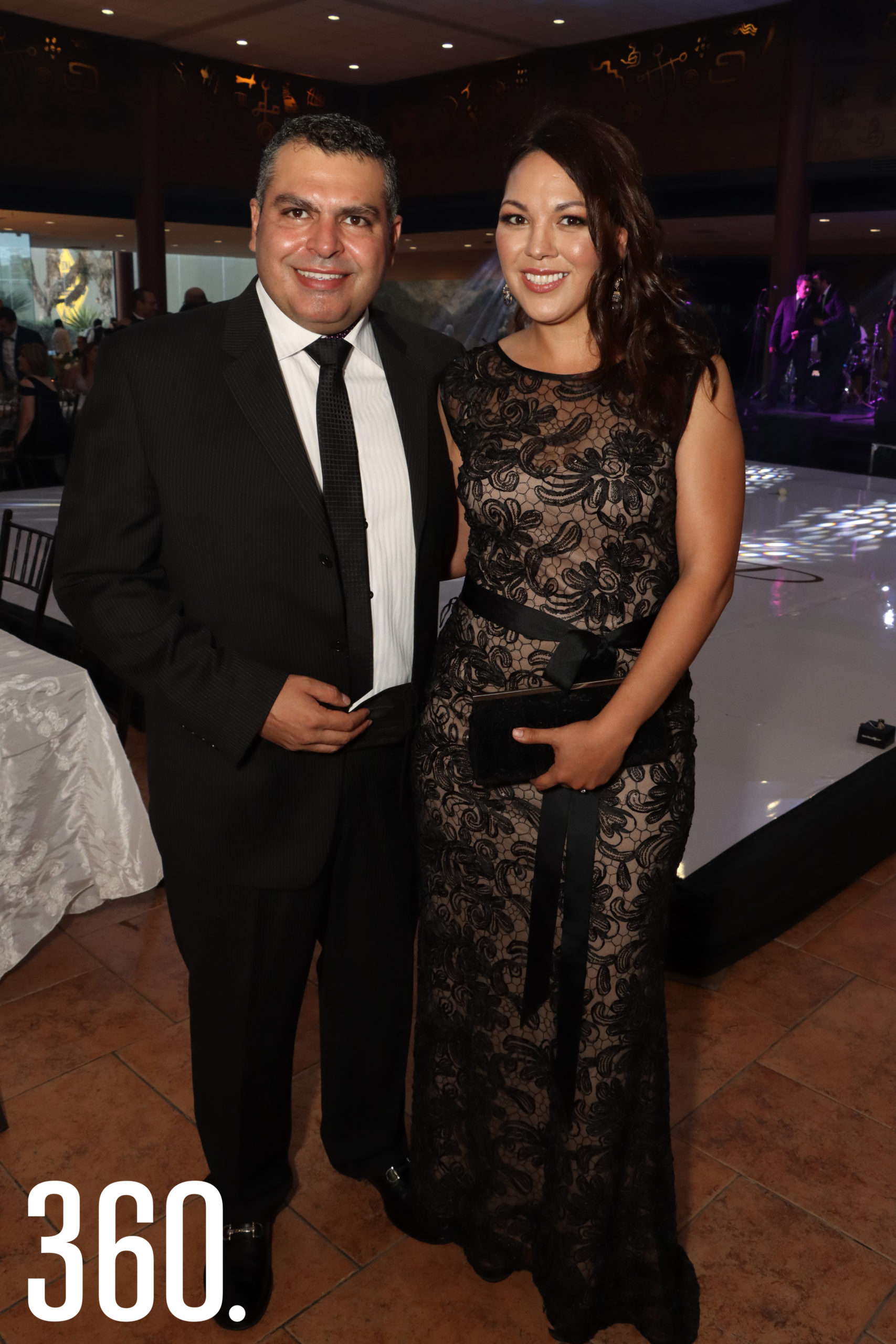 Pablo Abugarade y Sandra Pérez.