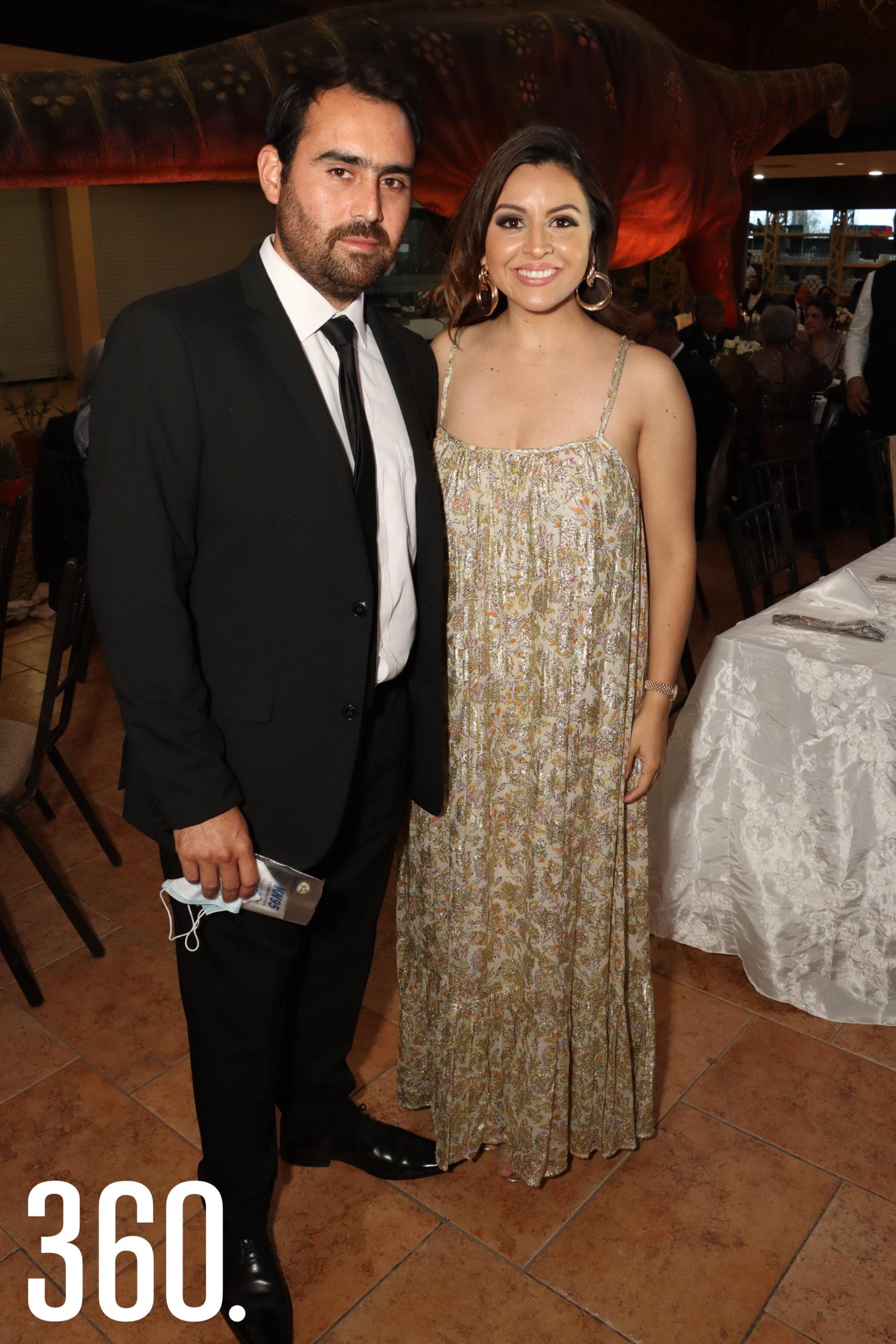 Arturo Huereca y Fernanda Villalobos.