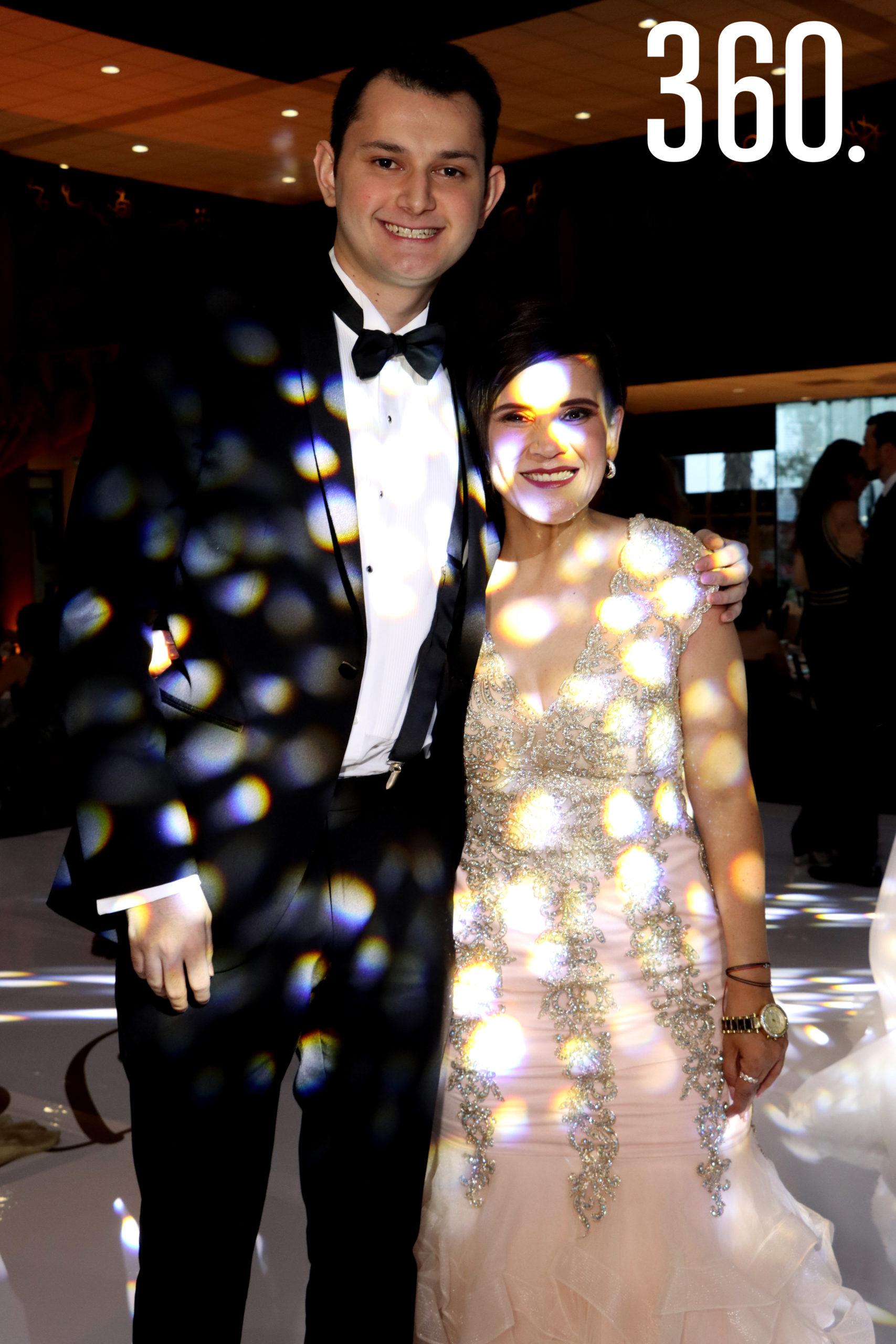 Diego García y Martha Torralba.