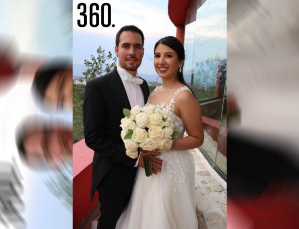 Juan Pablo Villalobos Rodríguez y Ana Sofía Tovar Fernández unieron sus vidas mediante el sacramento del matrimonio.