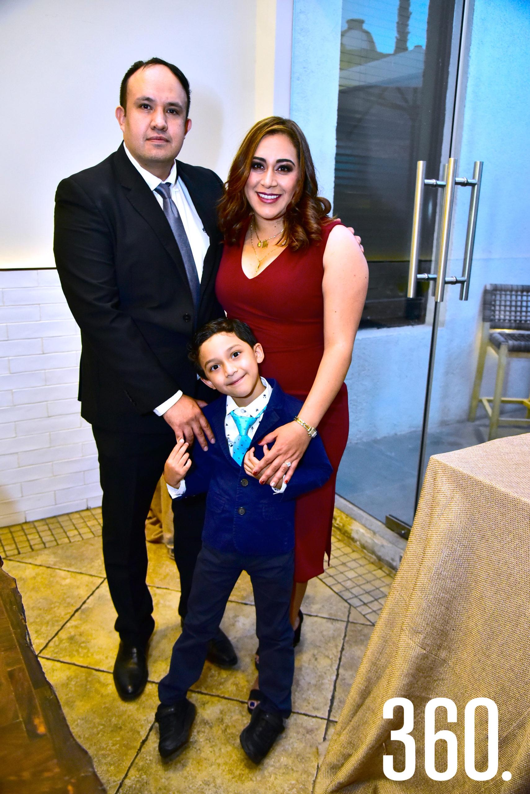 Familia Becerril.